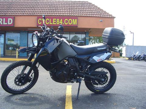 2018 Kawasaki KLR 650 in Fort Lauderdale, Florida - Photo 1