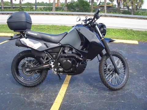 2018 Kawasaki KLR 650 in Fort Lauderdale, Florida - Photo 6