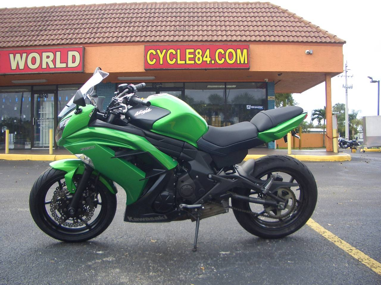 2015 Kawasaki Ninja® 650 in Fort Lauderdale, Florida - Photo 1