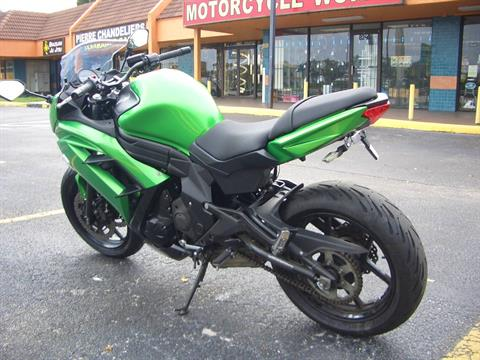 2015 Kawasaki Ninja® 650 in Fort Lauderdale, Florida - Photo 3