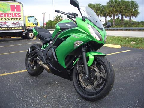 2015 Kawasaki Ninja® 650 in Fort Lauderdale, Florida - Photo 7