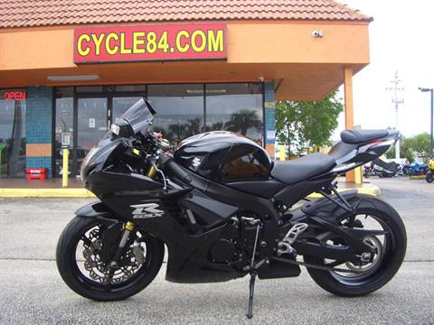 2012 Suzuki GSX-R750™ in Fort Lauderdale, Florida