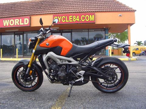 2014 Yamaha FZ-09 in Fort Lauderdale, Florida