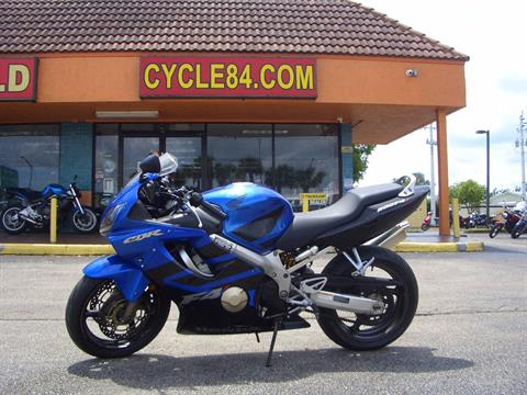 2006 Honda CBR®600F4i in Fort Lauderdale, Florida