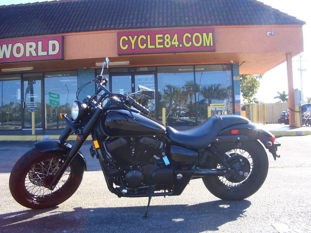2015 Honda Shadow Phantom® Black Motorcycles Fort Lauderdale Florida ...