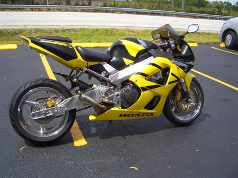 2001 Honda CBR929RR in Fort Lauderdale, Florida