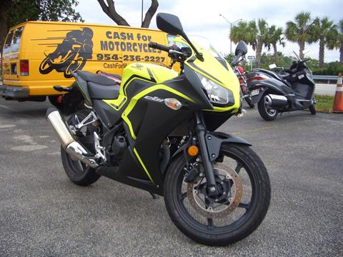 2016 Honda CBR300R in Fort Lauderdale, Florida