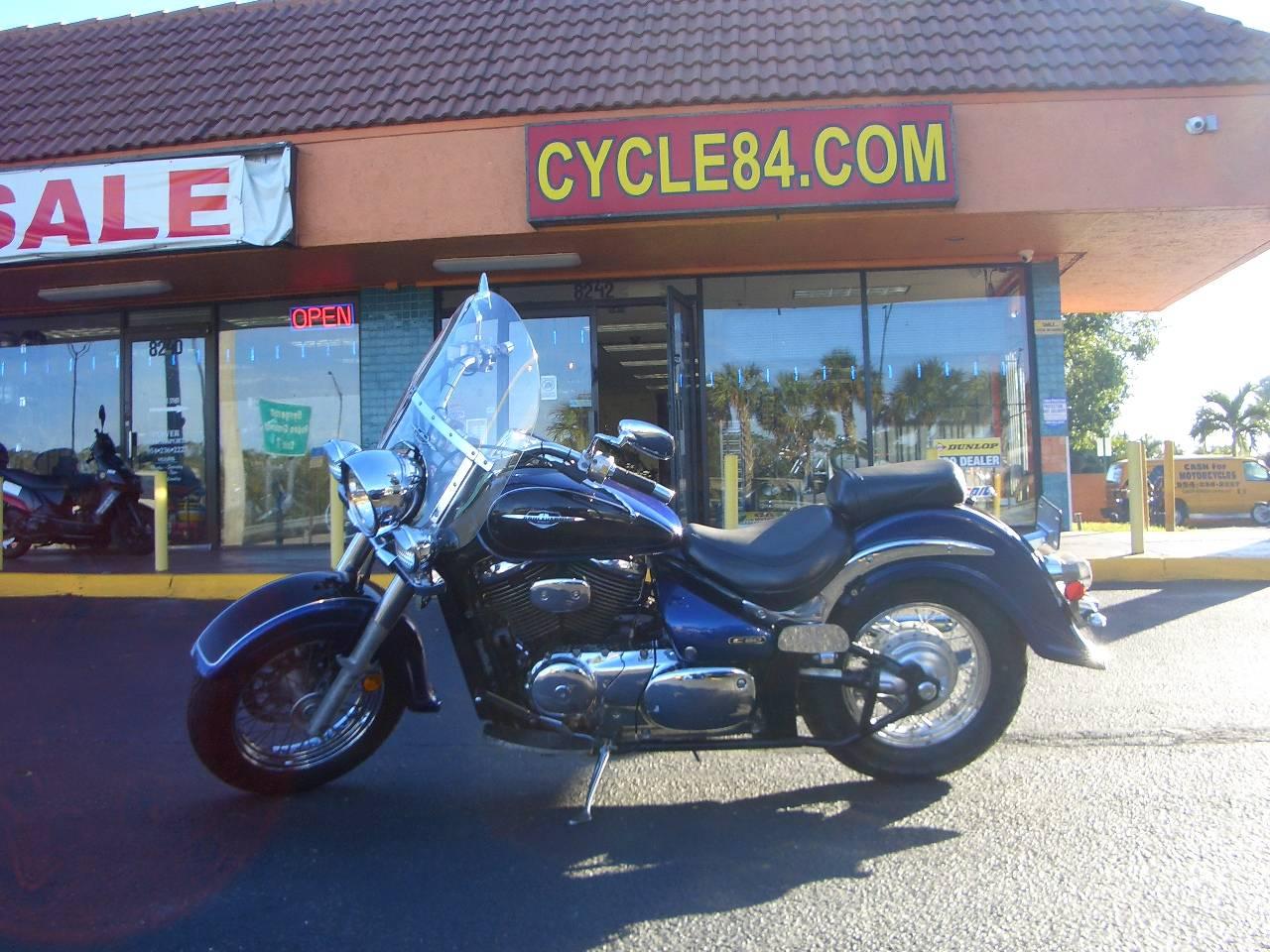 2005 Suzuki Boulevard C50 Black Blue Motorcycles Fort Lauderdale
