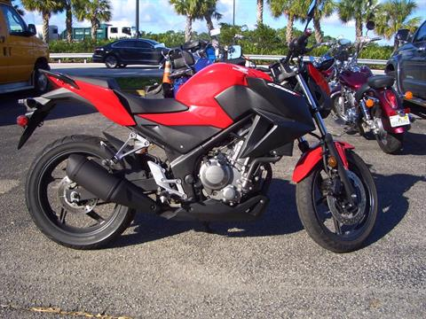 2015 Honda CB300F in Fort Lauderdale, Florida