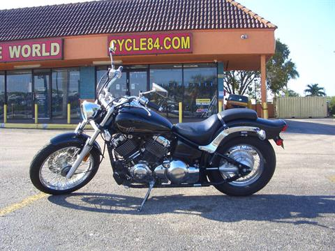 2013 Yamaha V Star 650 Custom in Fort Lauderdale, Florida
