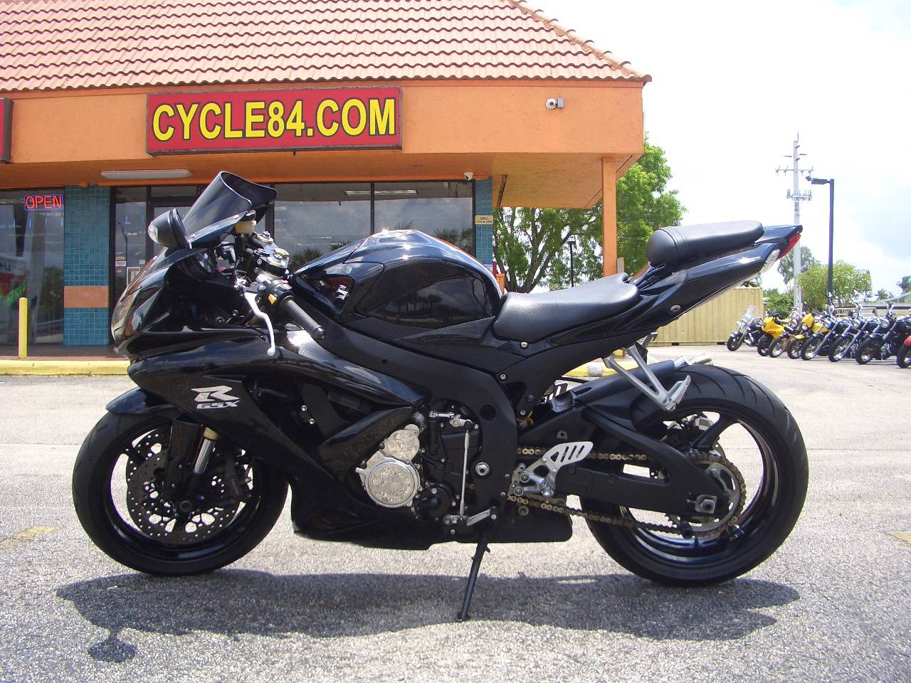 2009 Suzuki GSX-R600 in Fort Lauderdale, Florida