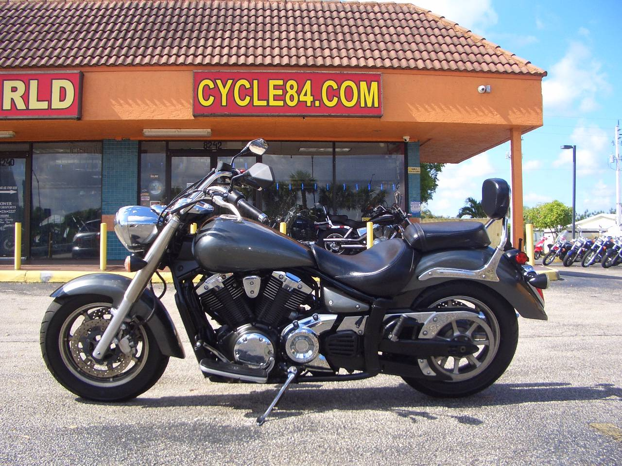 2012 Yamaha V Star 1300 Tourer in Fort Lauderdale, Florida