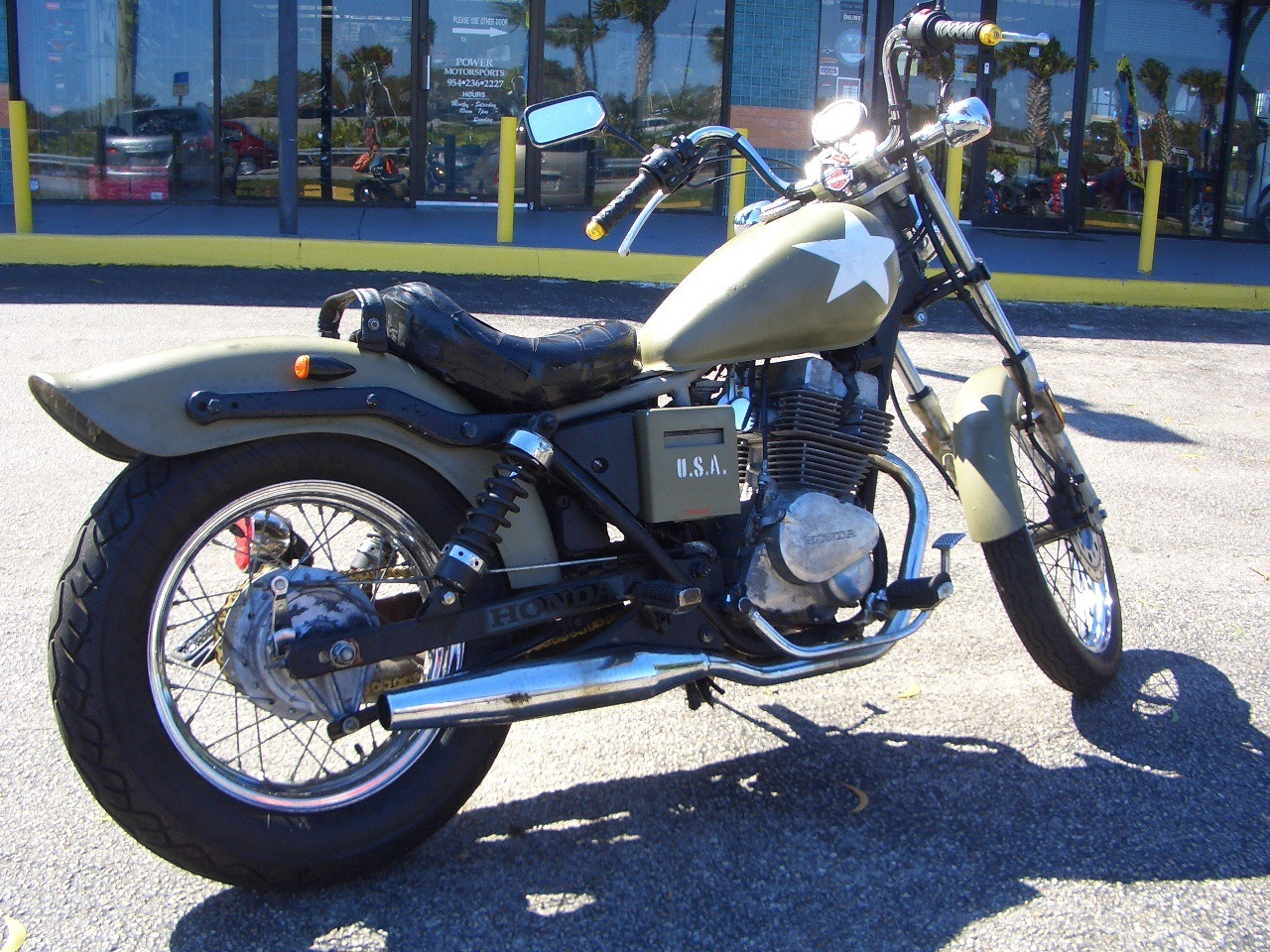 1987 Honda 250 REBEL in Fort Lauderdale, Florida - Photo 4