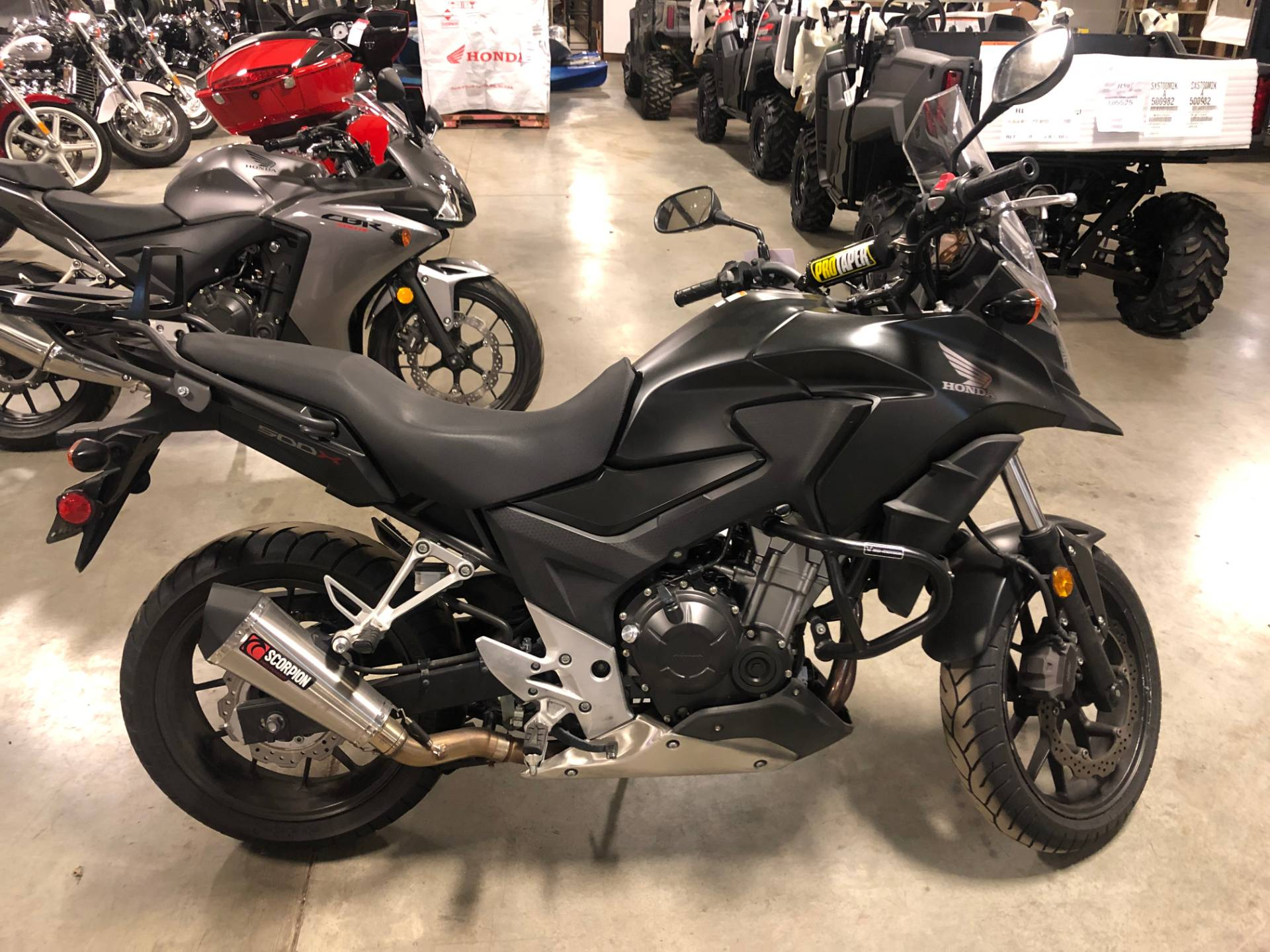2016 Honda Cb500x In Louisville Kentucky Photo 1