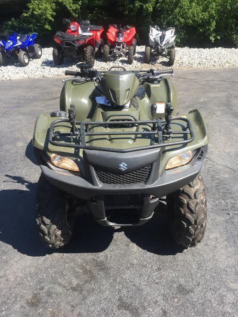 2013 Suzuki KingQuad® 500AXi in Logan, West Virginia
