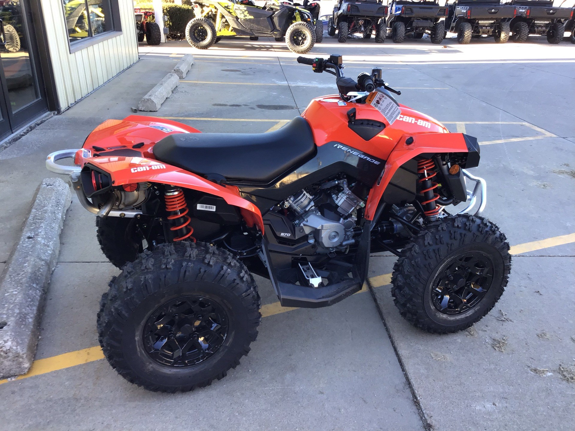 2018 Can-Am Renegade 570 for sale 5358