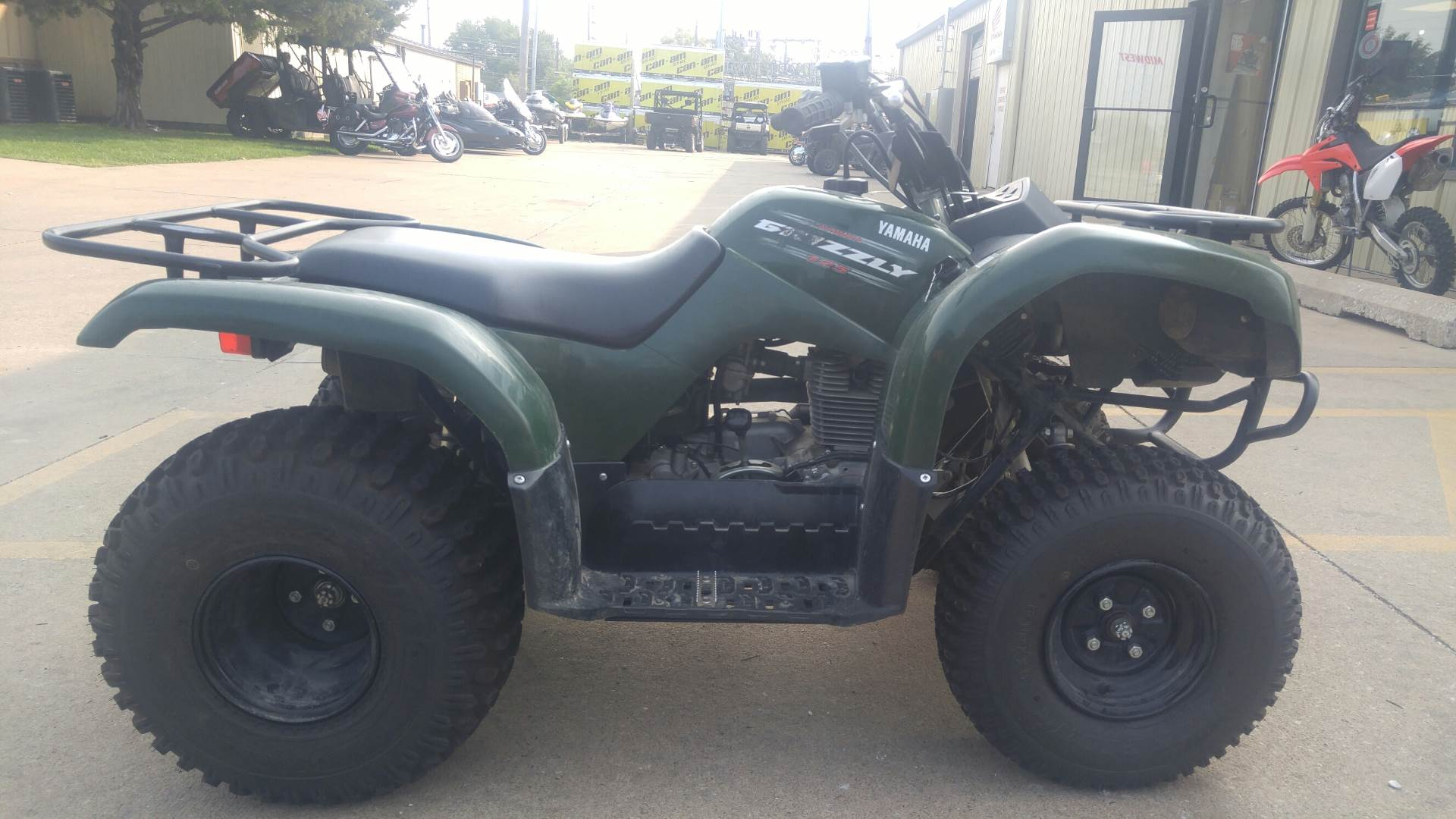 2011 Grizzly 125 Automatic