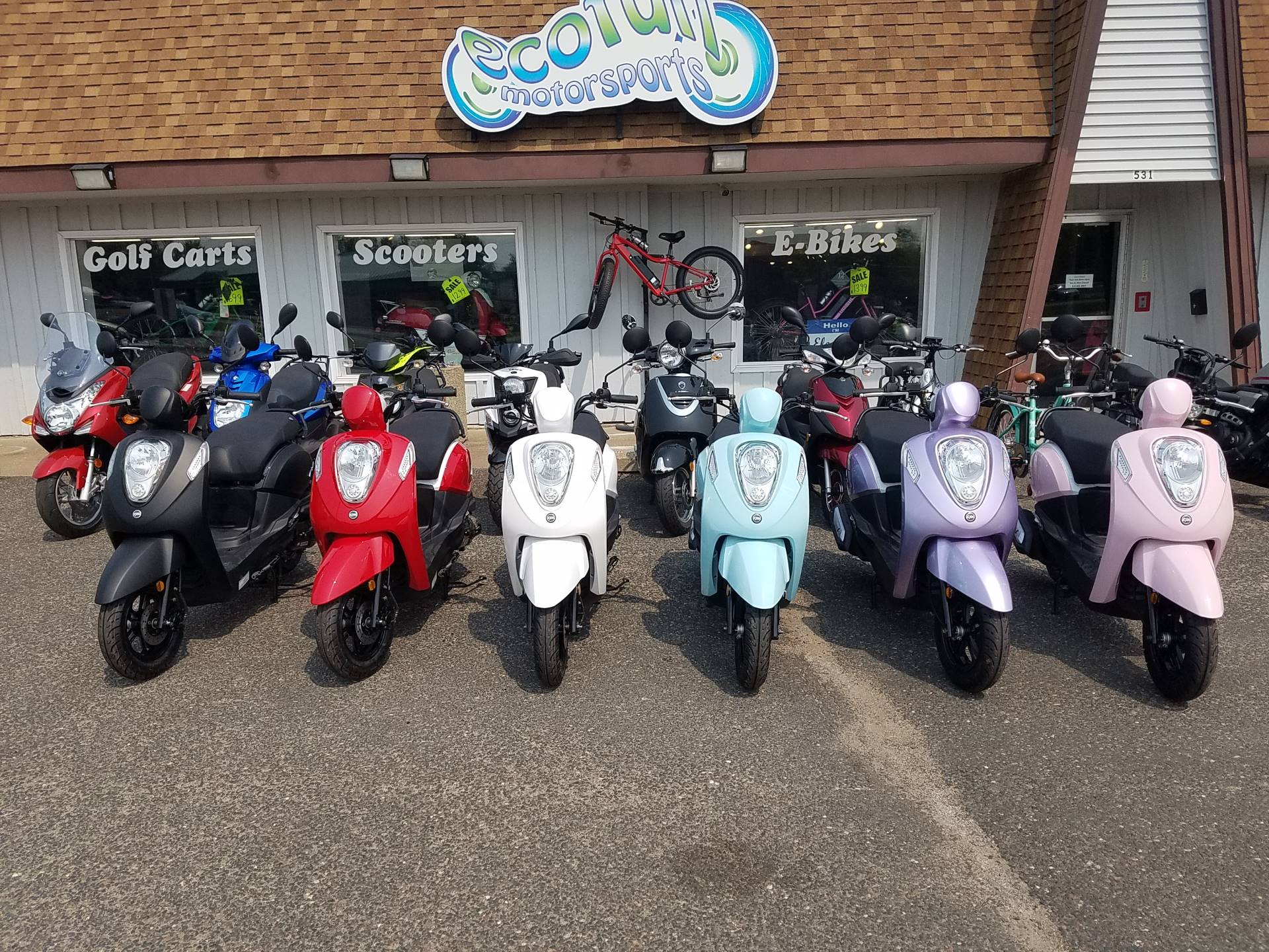 2021 SYM Mio 49cc Scooter in Forest Lake, Minnesota - Photo 14