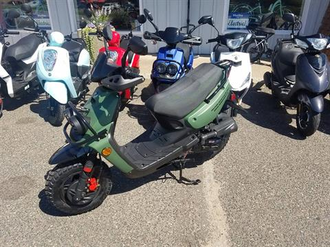 2021 Scootstar Roguestar 50 Scooter in Forest Lake, Minnesota - Photo 2