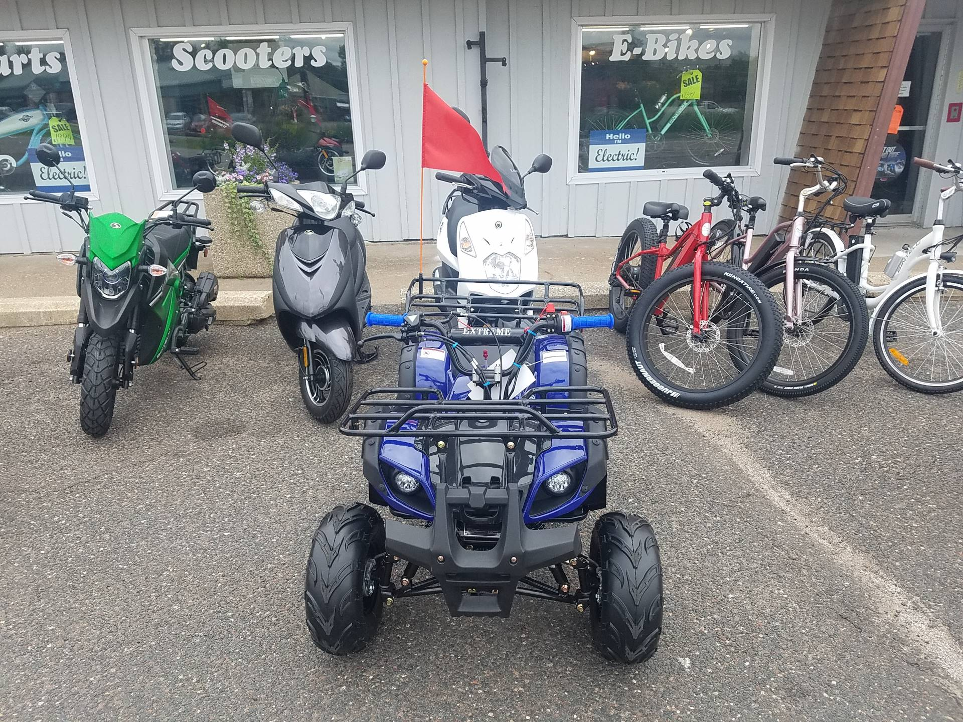 2020 Raytech Trooper 125 ATV in Forest Lake, Minnesota - Photo 5