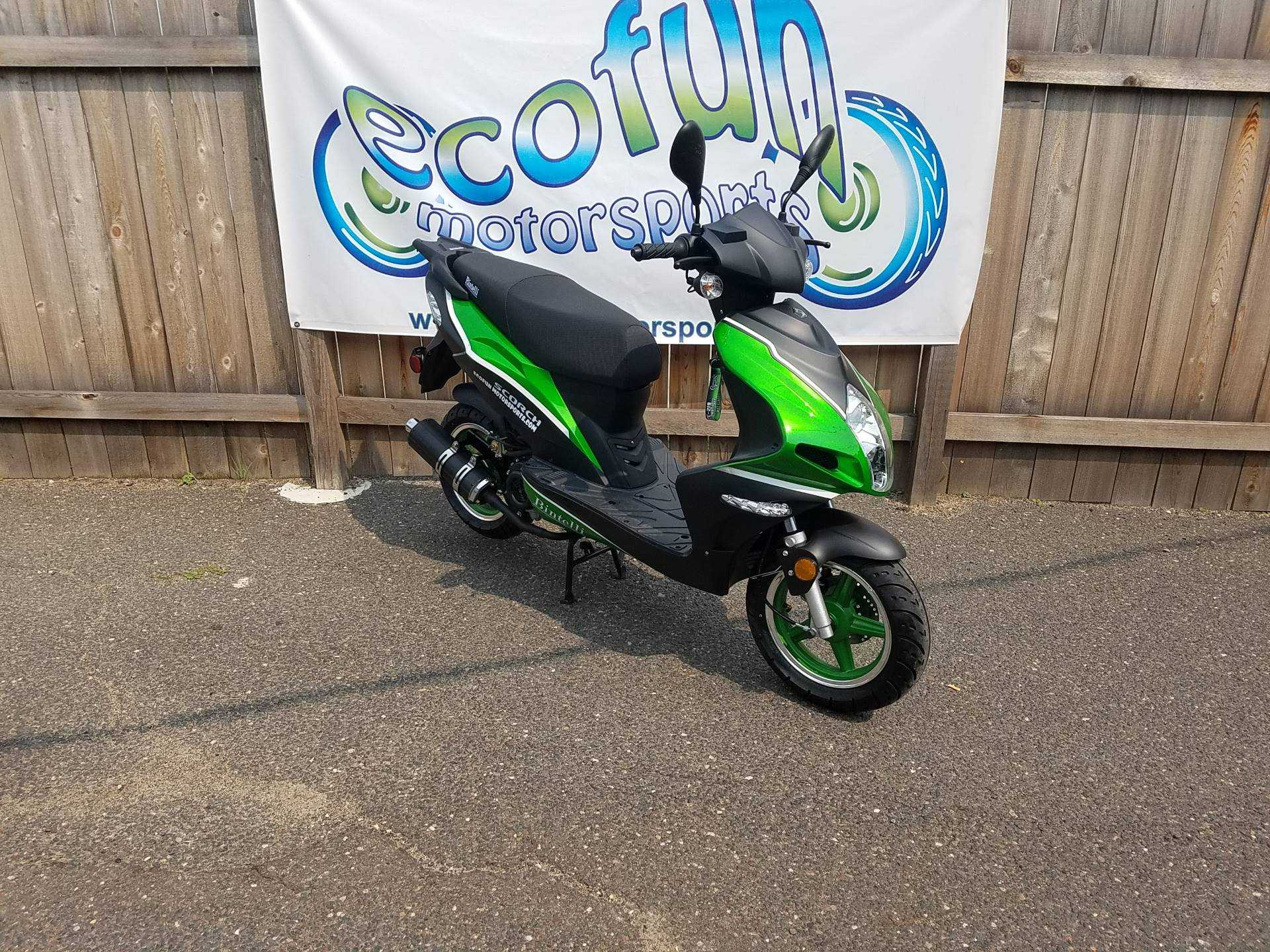 2021 Bintelli Scorch 49cc Scooter in Forest Lake, Minnesota - Photo 1