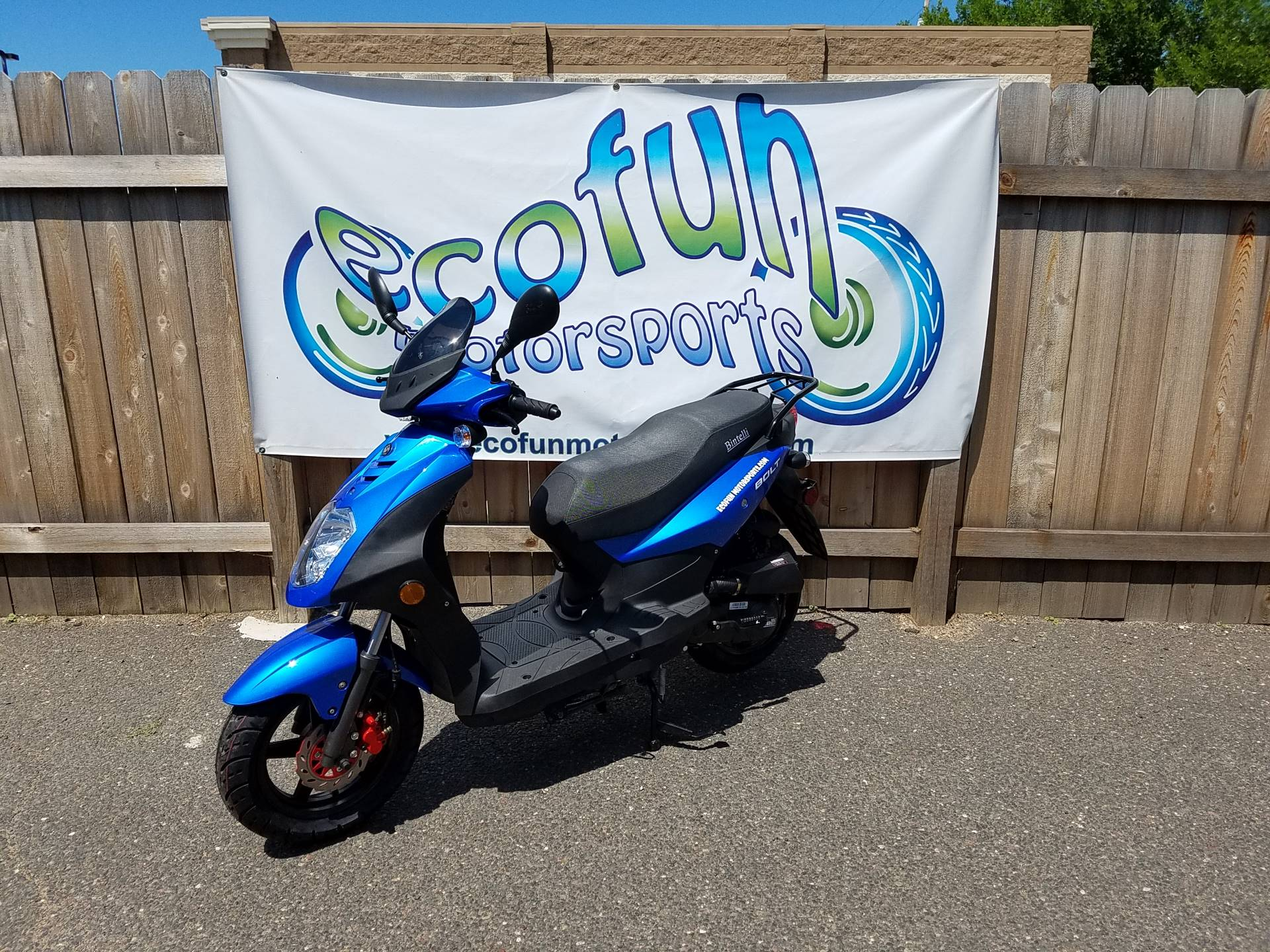 2020 JIAJ Bolt 49cc Scooter in Forest Lake, Minnesota - Photo 2