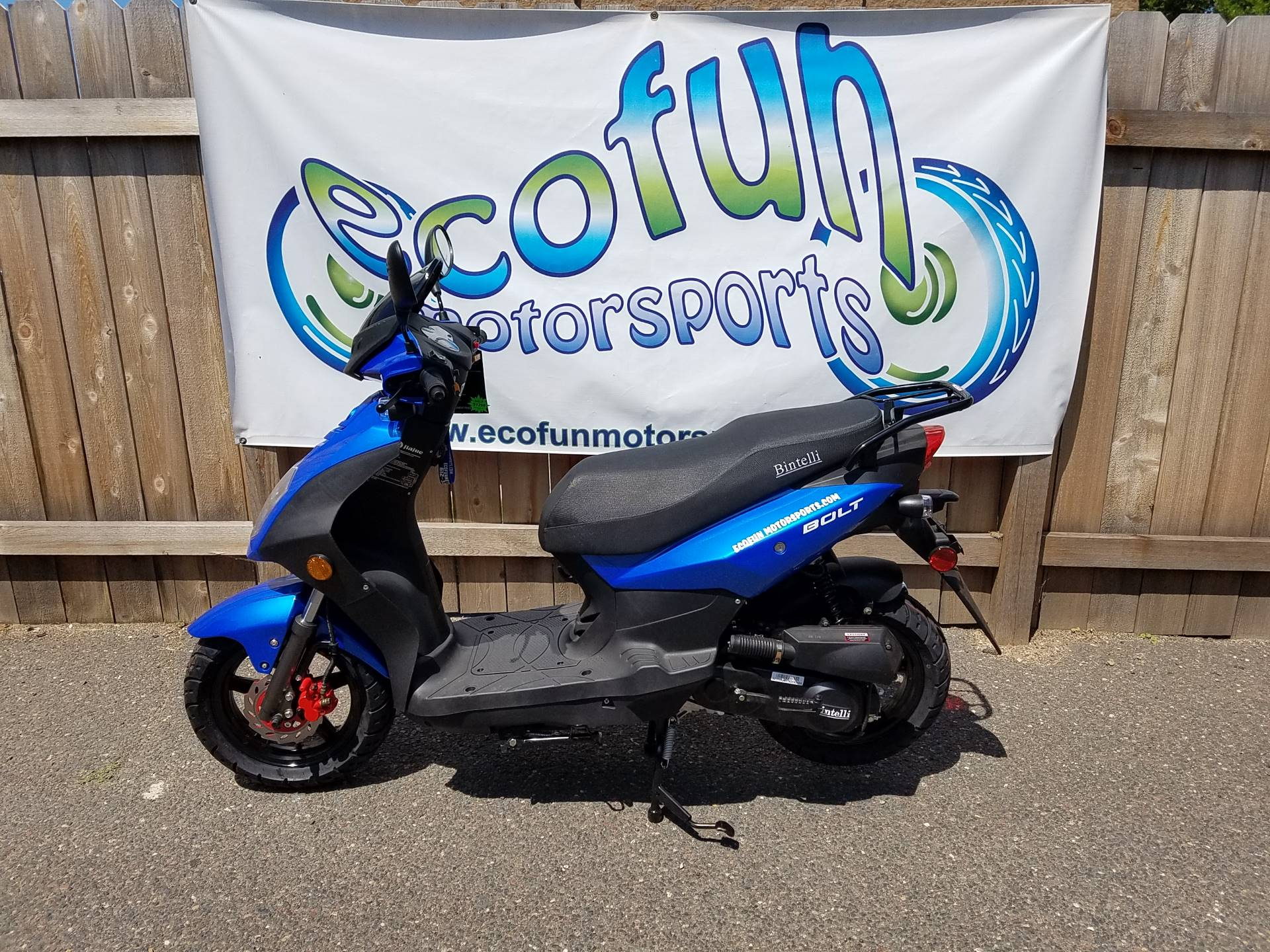2020 JIAJ Bolt 49cc Scooter in Forest Lake, Minnesota - Photo 3