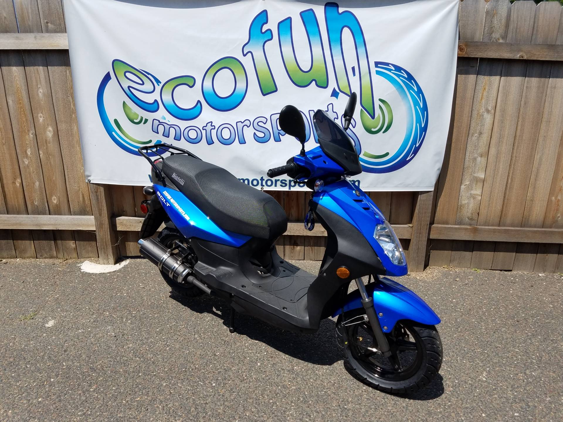 2020 JIAJ Bolt 49cc Scooter in Forest Lake, Minnesota - Photo 4
