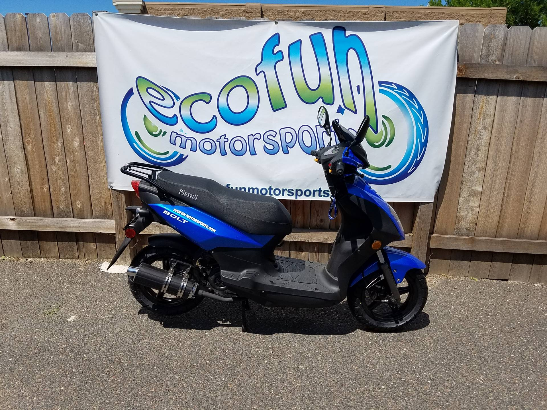 2020 JIAJ Bolt 49cc Scooter in Forest Lake, Minnesota - Photo 5