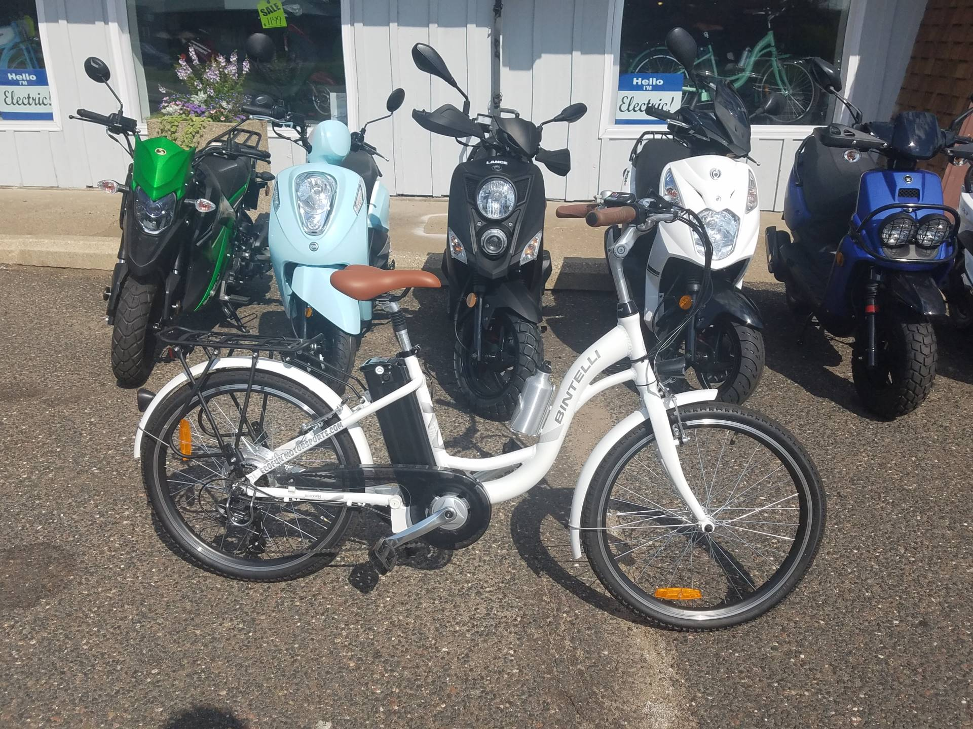 Bintelli Journey Electric Bicycle in Forest Lake, Minnesota - Photo 2