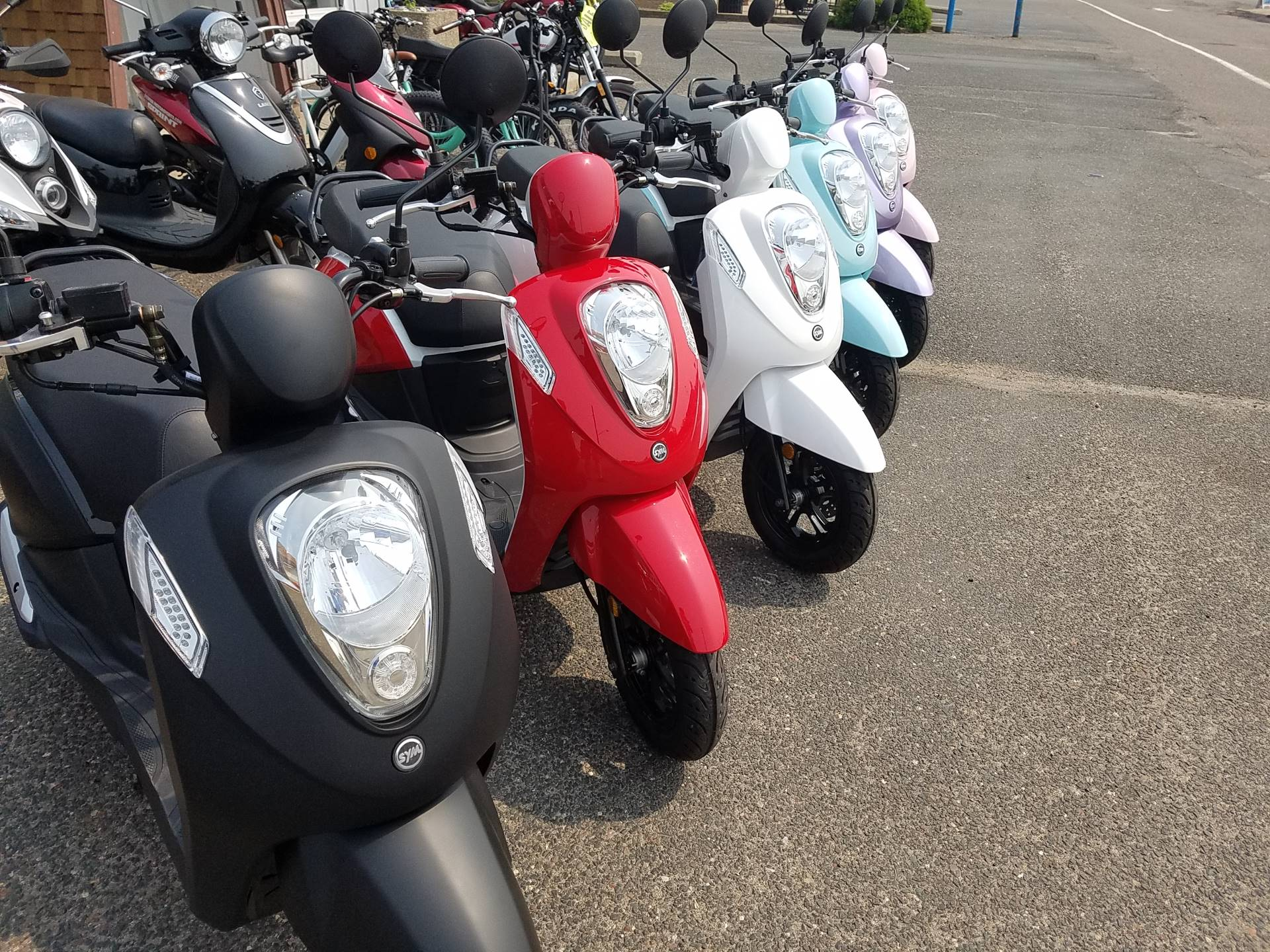 2021 SYM Mio 49cc Scooter in Forest Lake, Minnesota - Photo 16