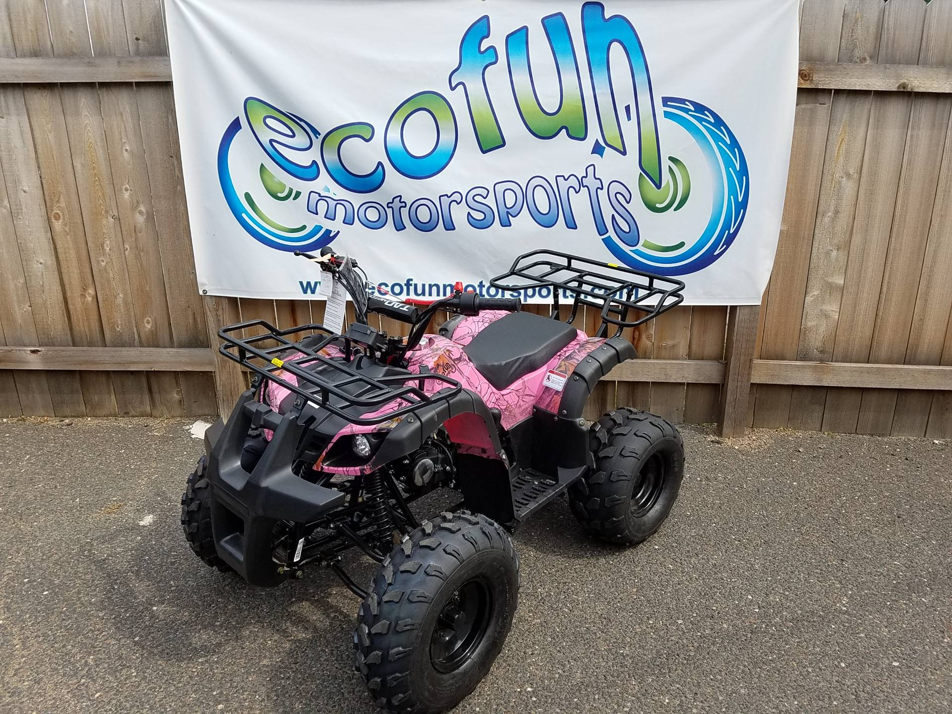 2019 Youth Commander 125cc ATV in Forest Lake, Minnesota - Photo 2