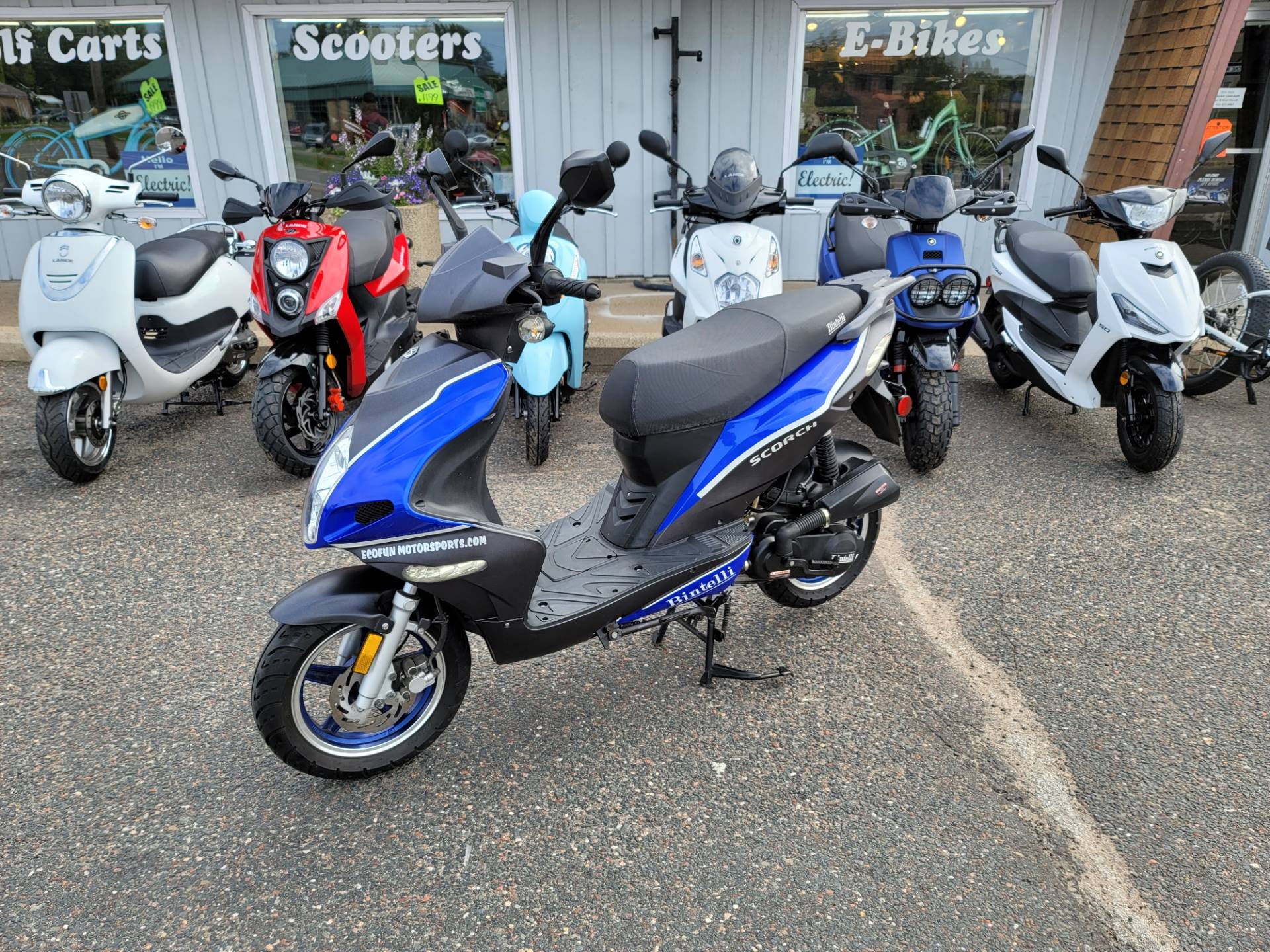 2015 ZHNG Scorch 49cc Scooter in Forest Lake, Minnesota - Photo 2