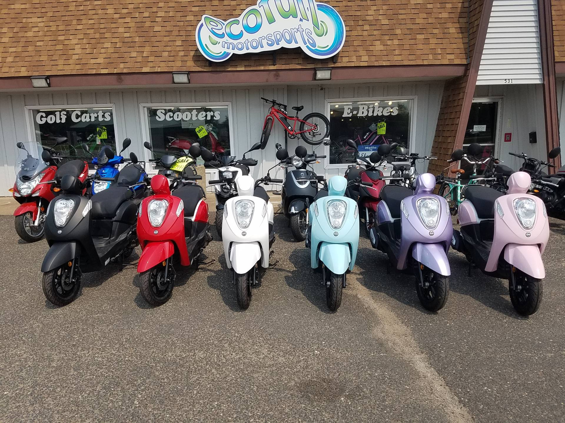 2021 SYM Mio 49cc Scooter in Forest Lake, Minnesota - Photo 29