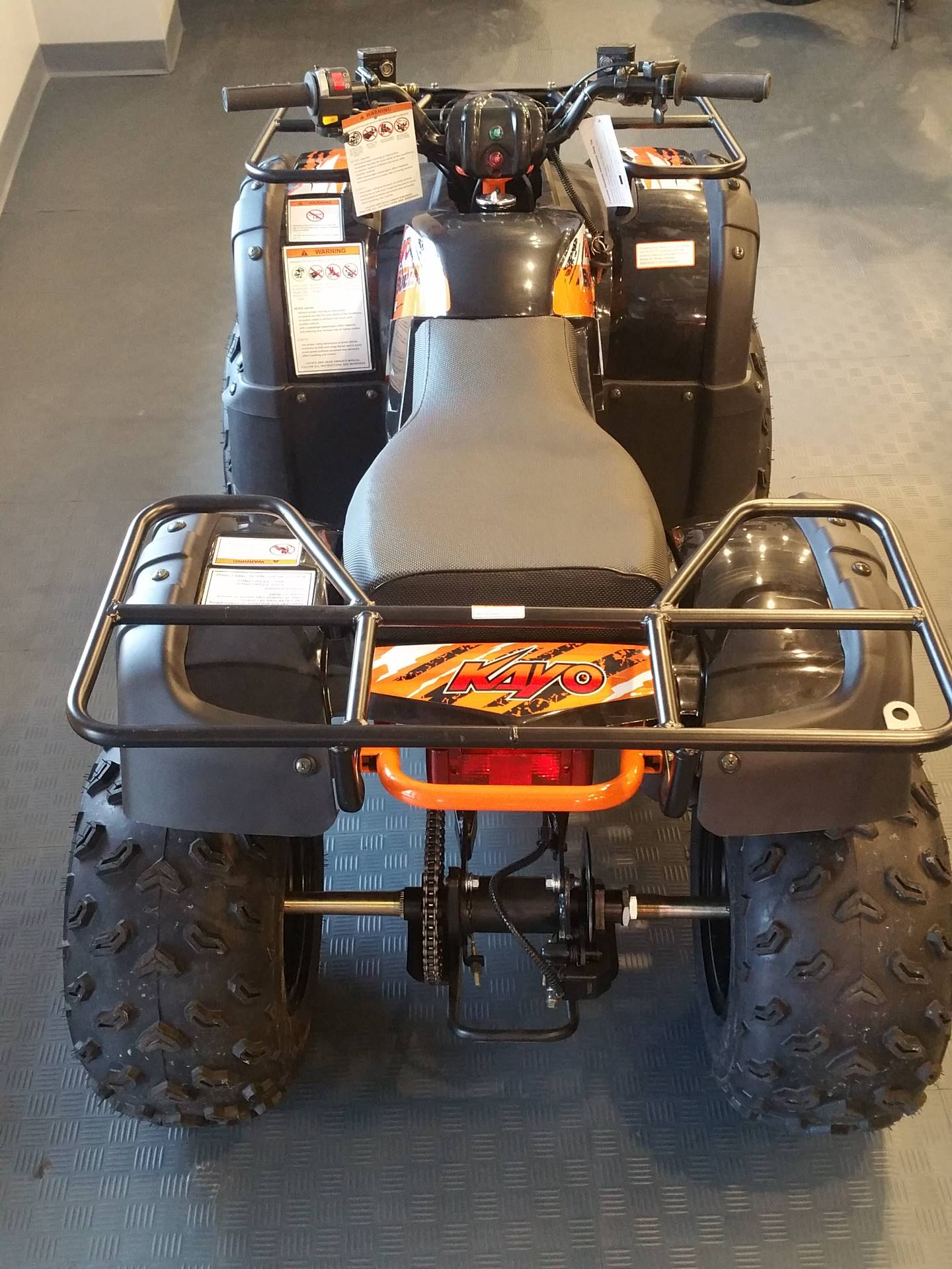2019 Kayo USA Bull 150 ATV in Forest Lake, Minnesota - Photo 6