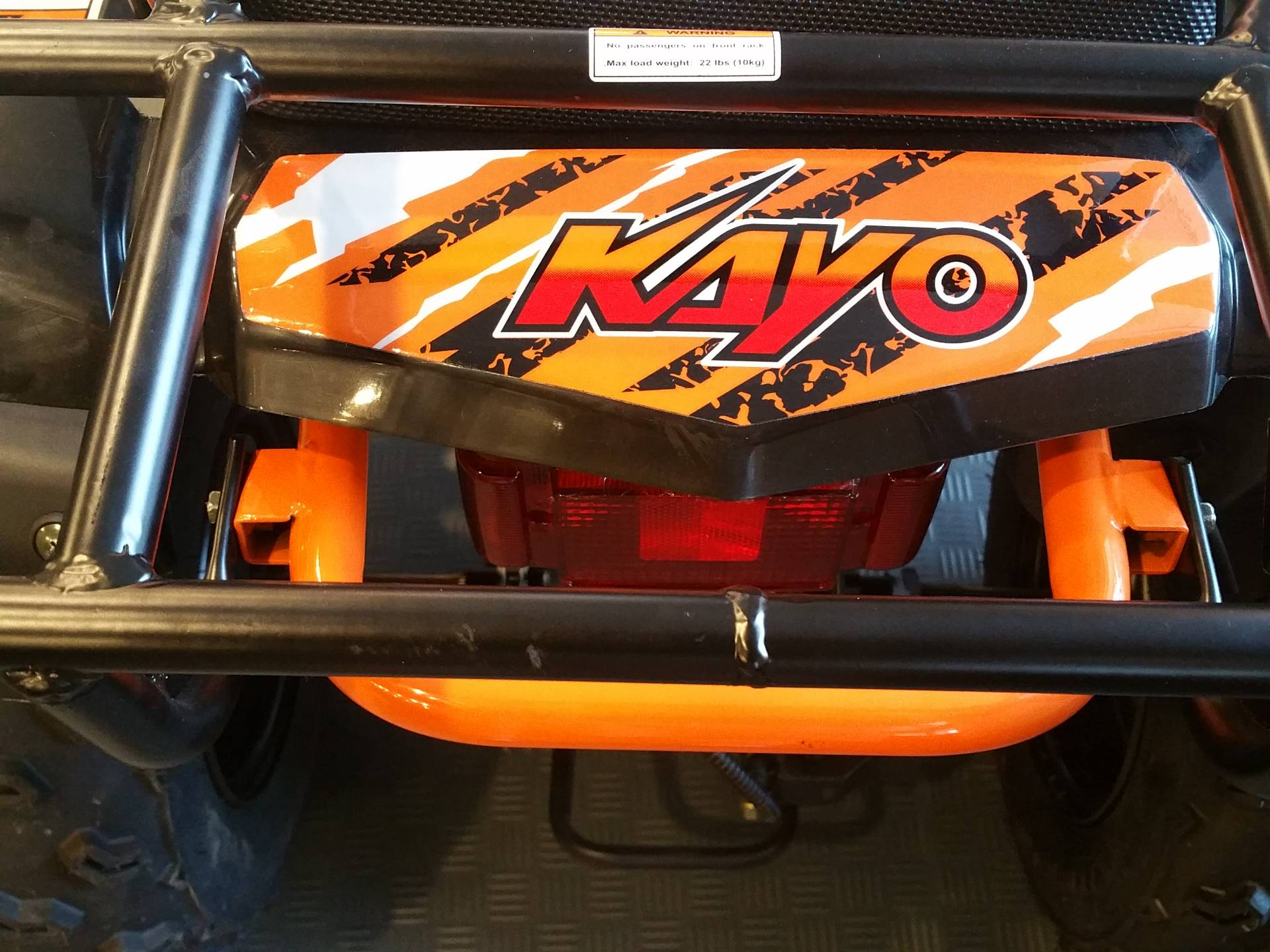 2019 Kayo USA Bull 150 ATV in Forest Lake, Minnesota - Photo 10
