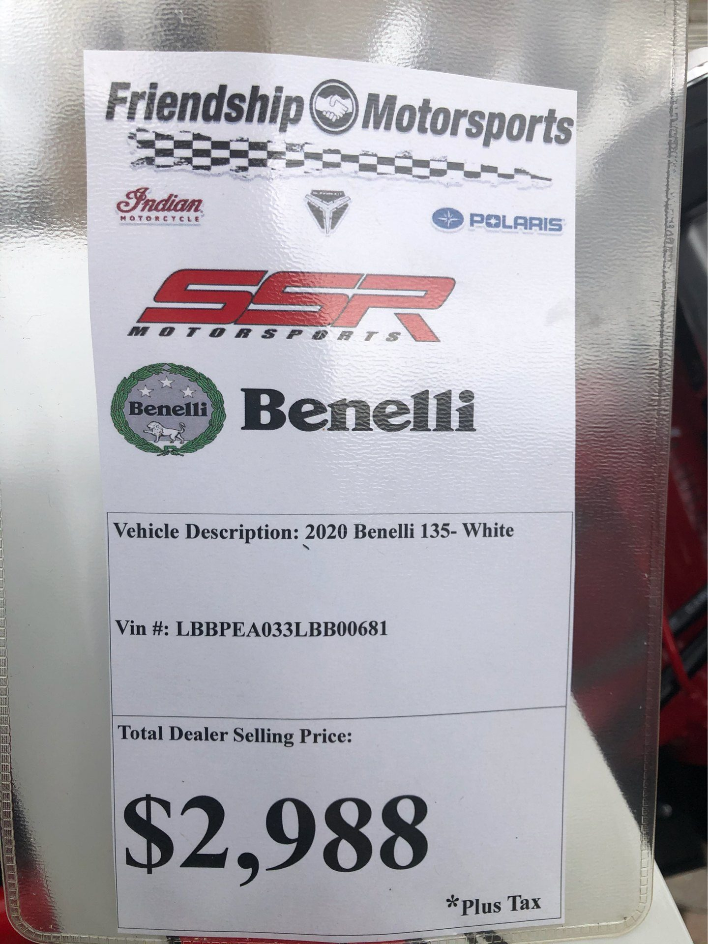 2020 Benelli TNT135 in Bristol, Virginia - Photo 10