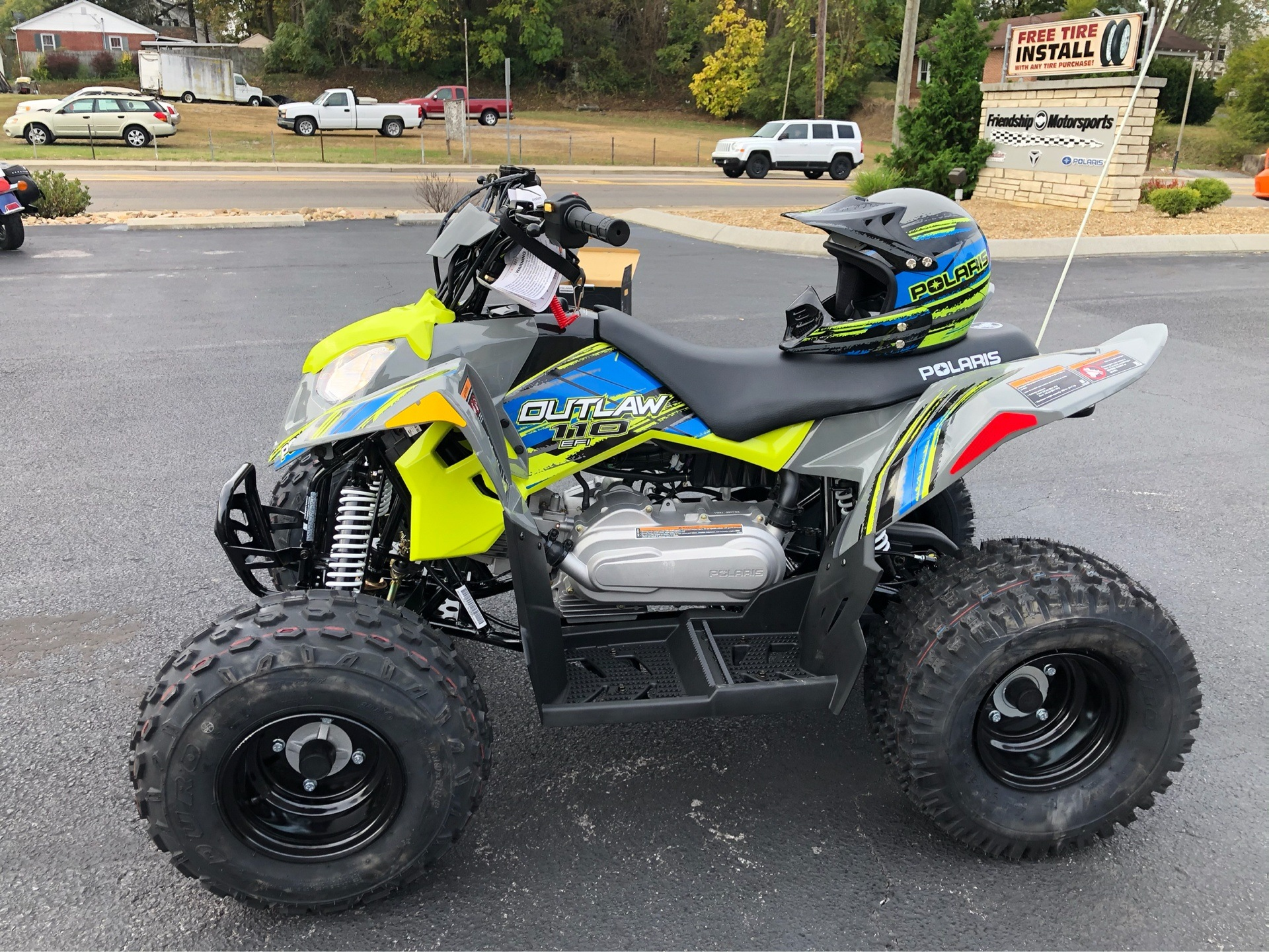 2020 Polaris Outlaw 110 in Bristol, Virginia - Photo 3