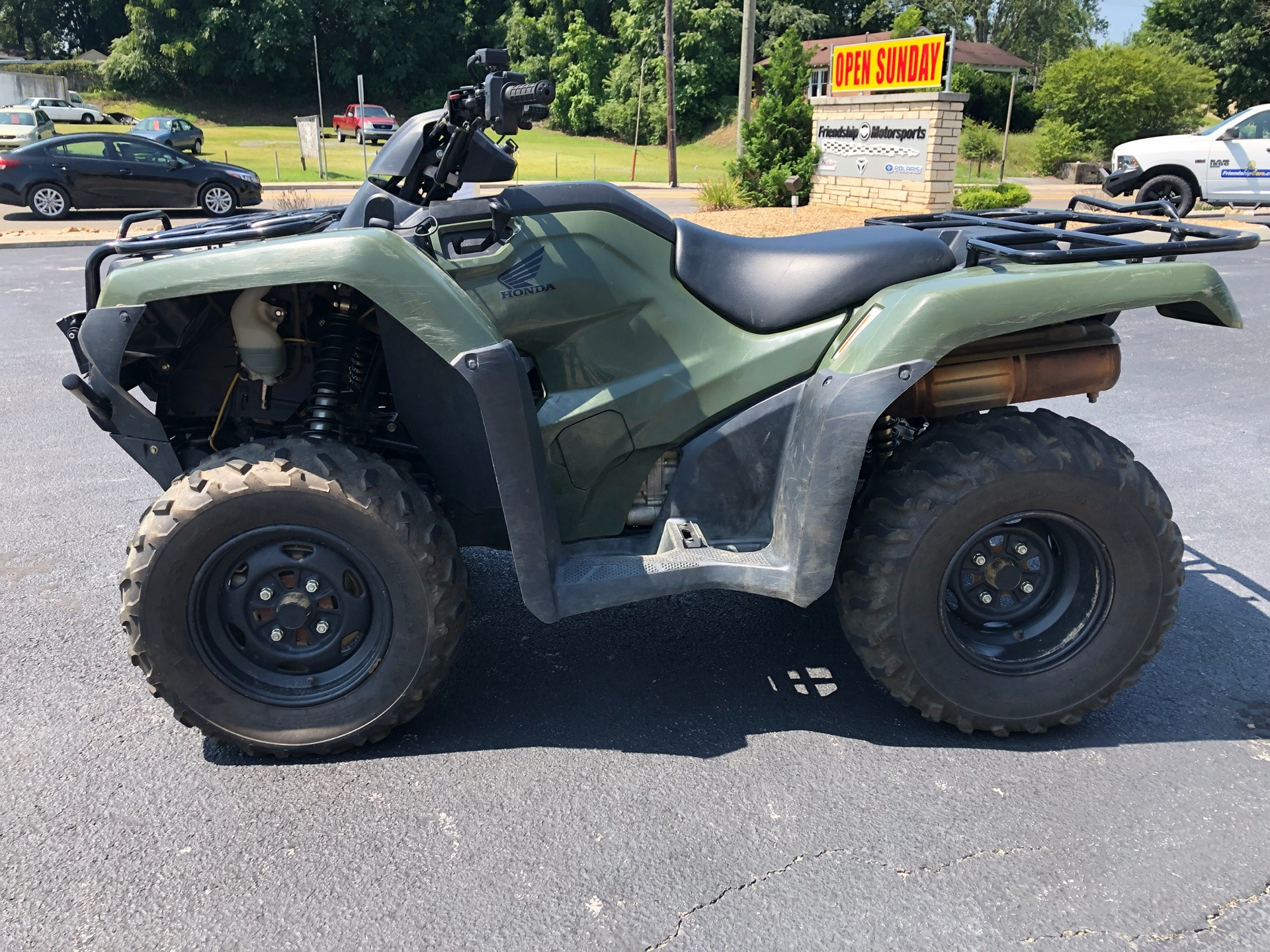 2016 Honda FourTrax Rancher 4X4 Automatic DCT in Bristol, Virginia - Photo 4