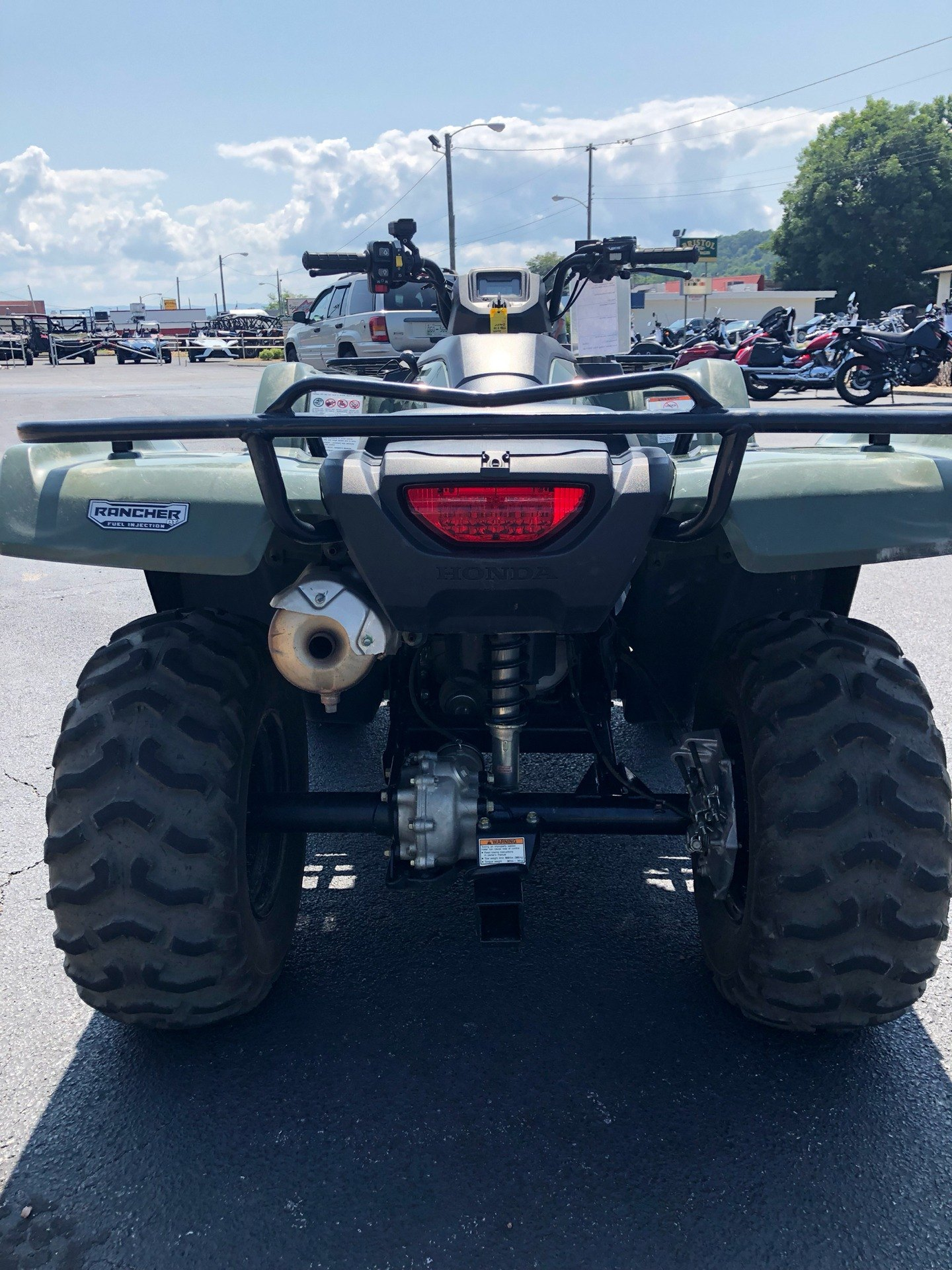 2016 Honda FourTrax Rancher 4X4 Automatic DCT in Bristol, Virginia - Photo 5