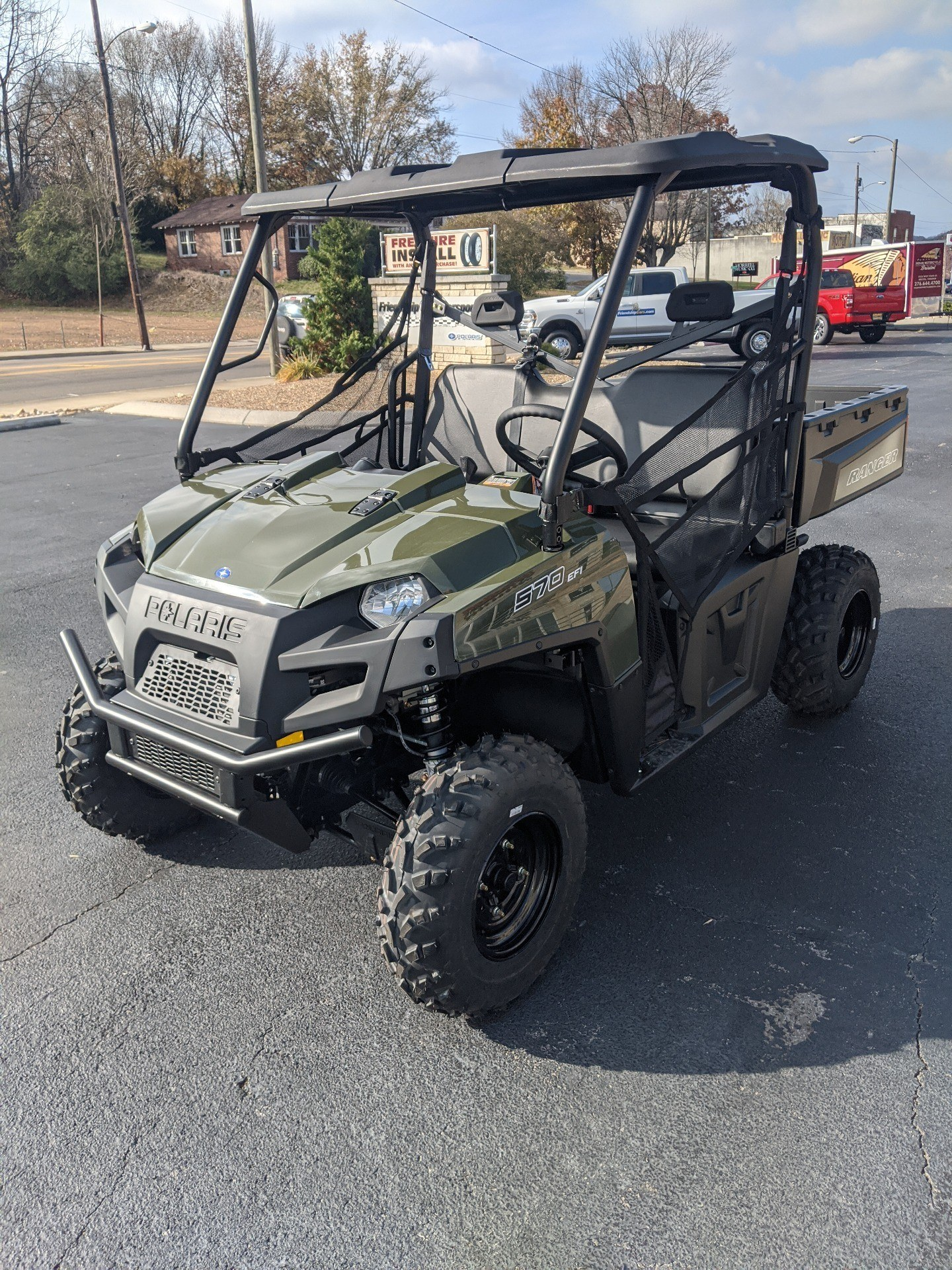 2020 Polaris Ranger 570 Full-Size in Bristol, Virginia - Photo 5