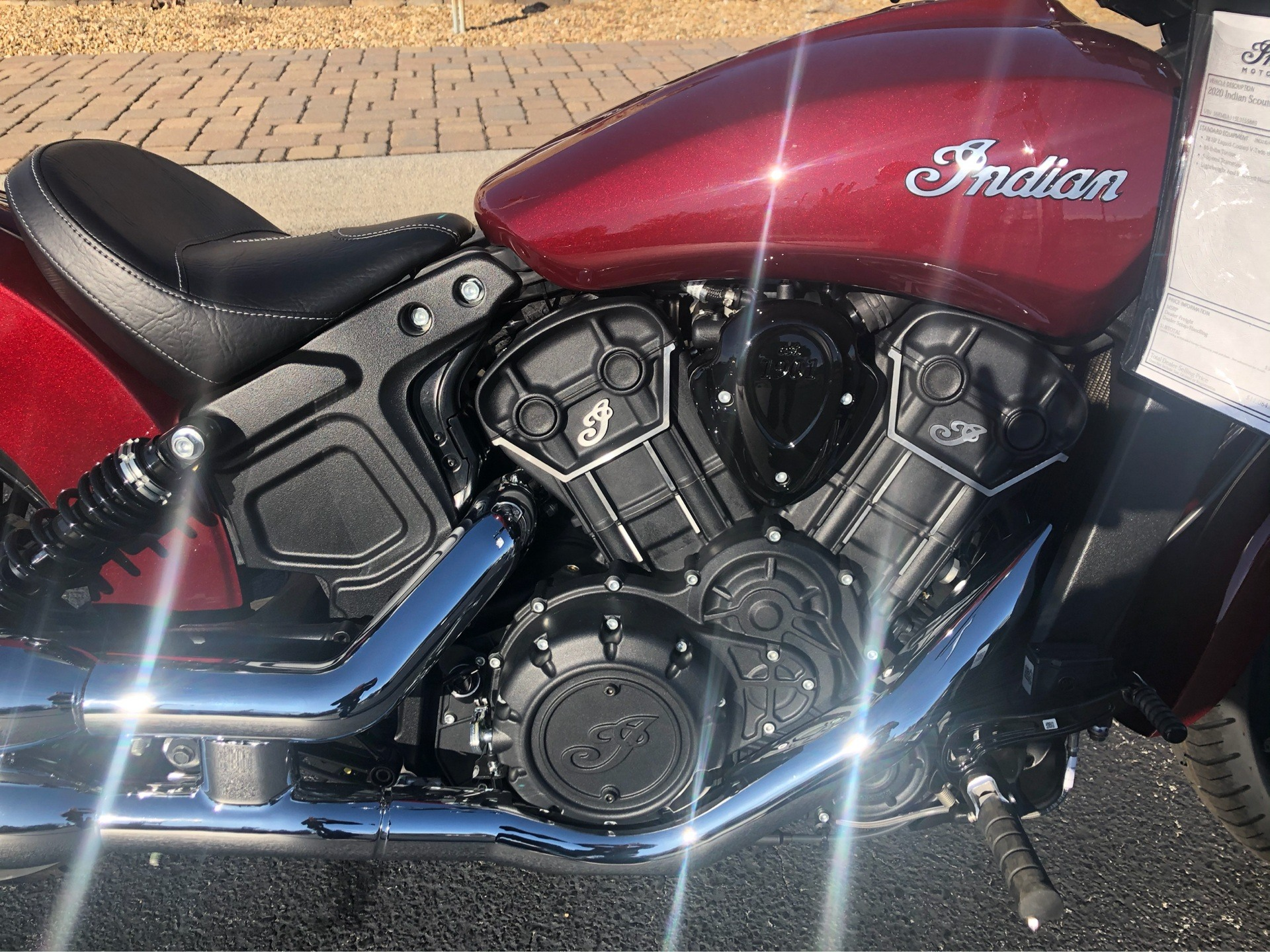 2020 Indian Scout® Sixty ABS in Bristol, Virginia - Photo 2