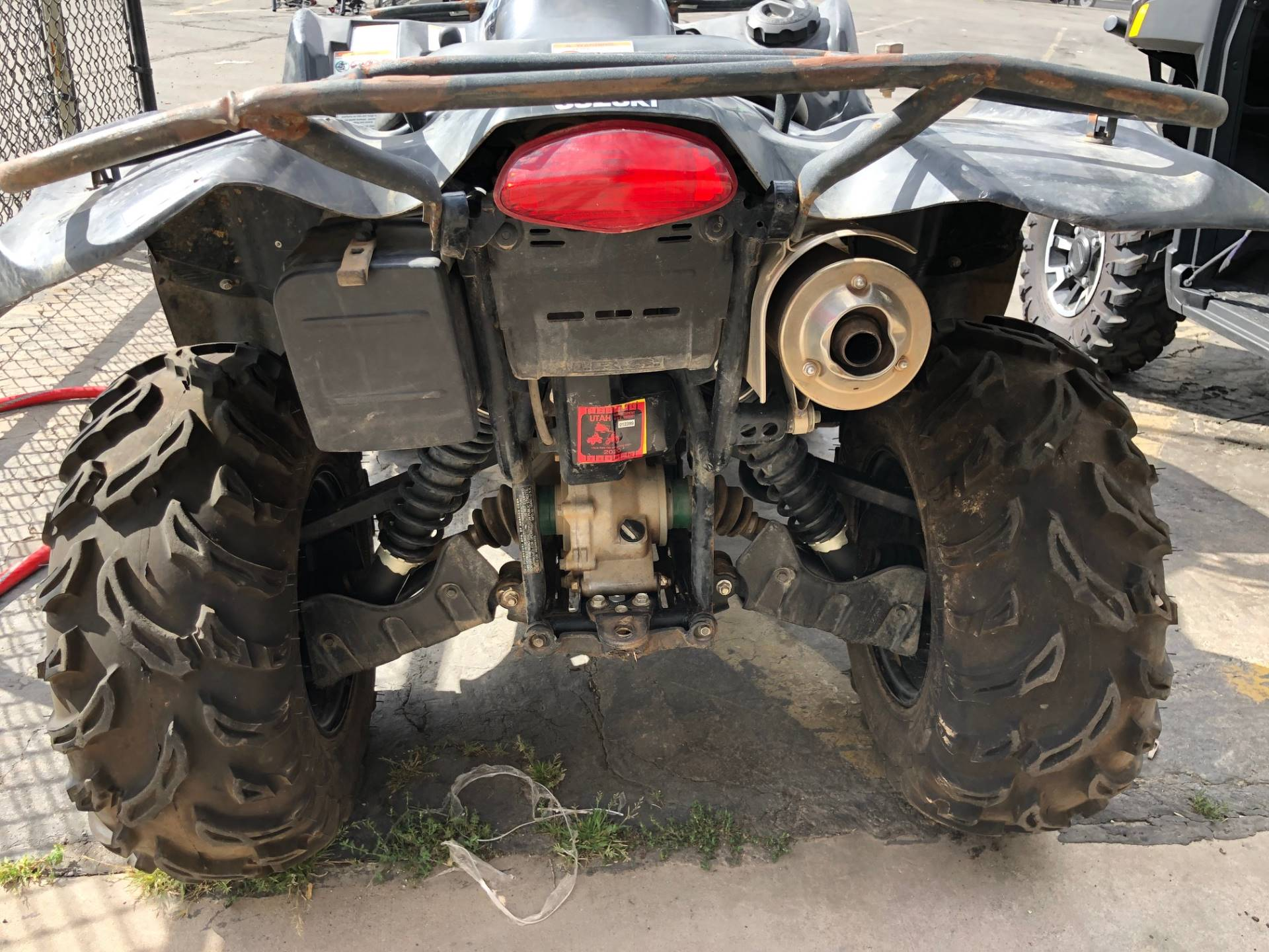 2007 Suzuki KingQuad® 450 4x4 in Cedar City, Utah - Photo 11