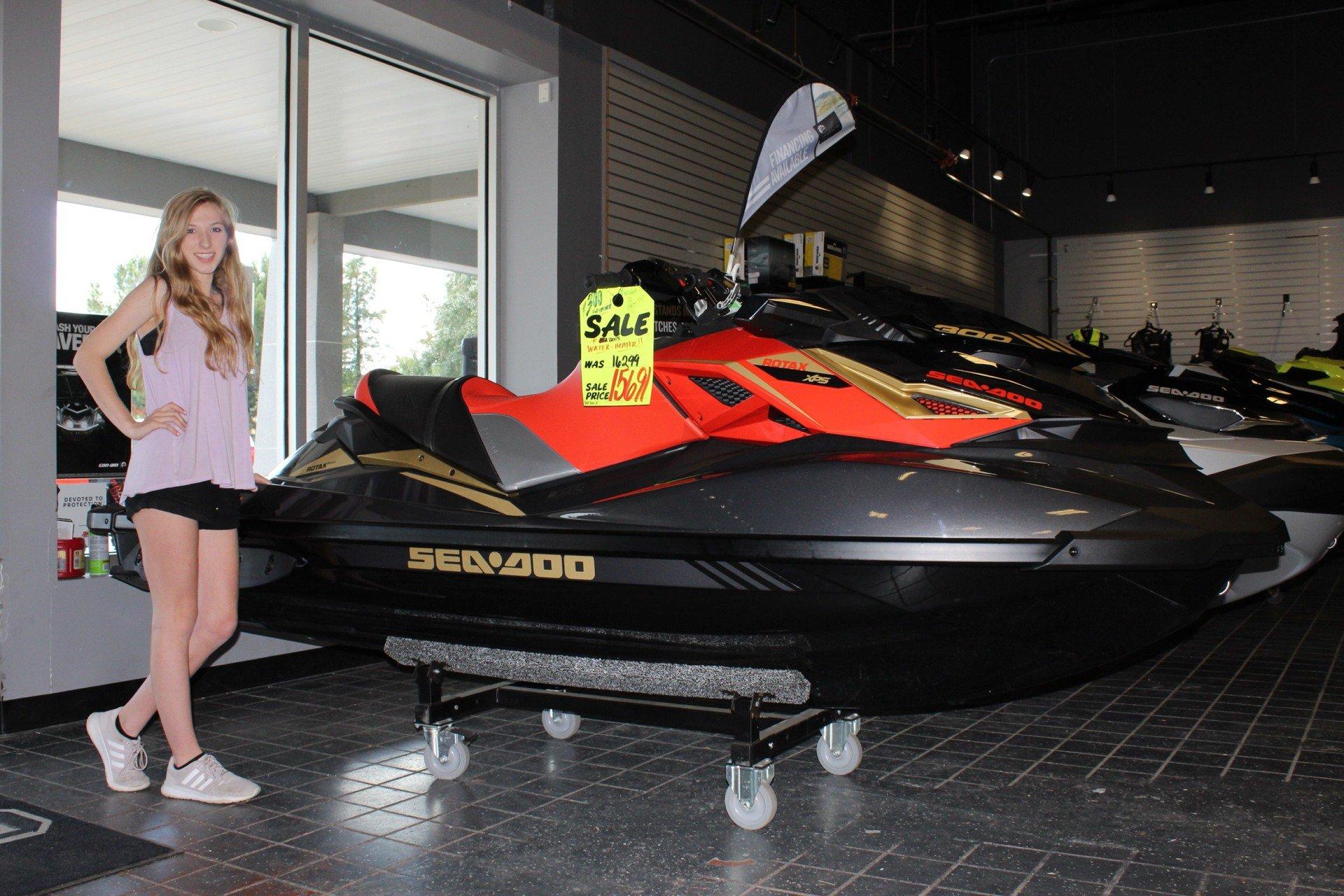 2019 Sea-Doo RXP-X 300 iBR in Savannah, Georgia