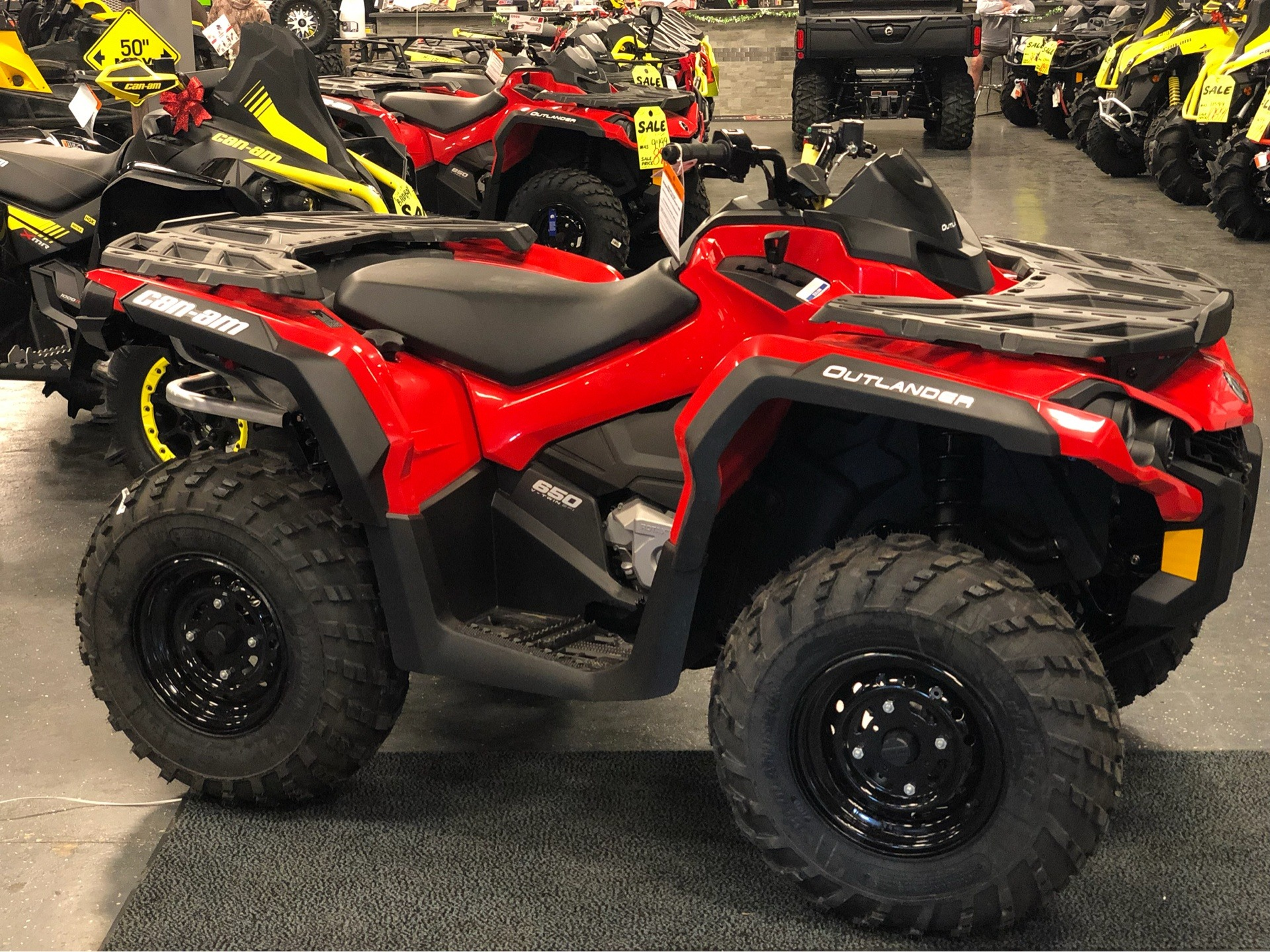2019 Can-Am Outlander 650 in Savannah, Georgia