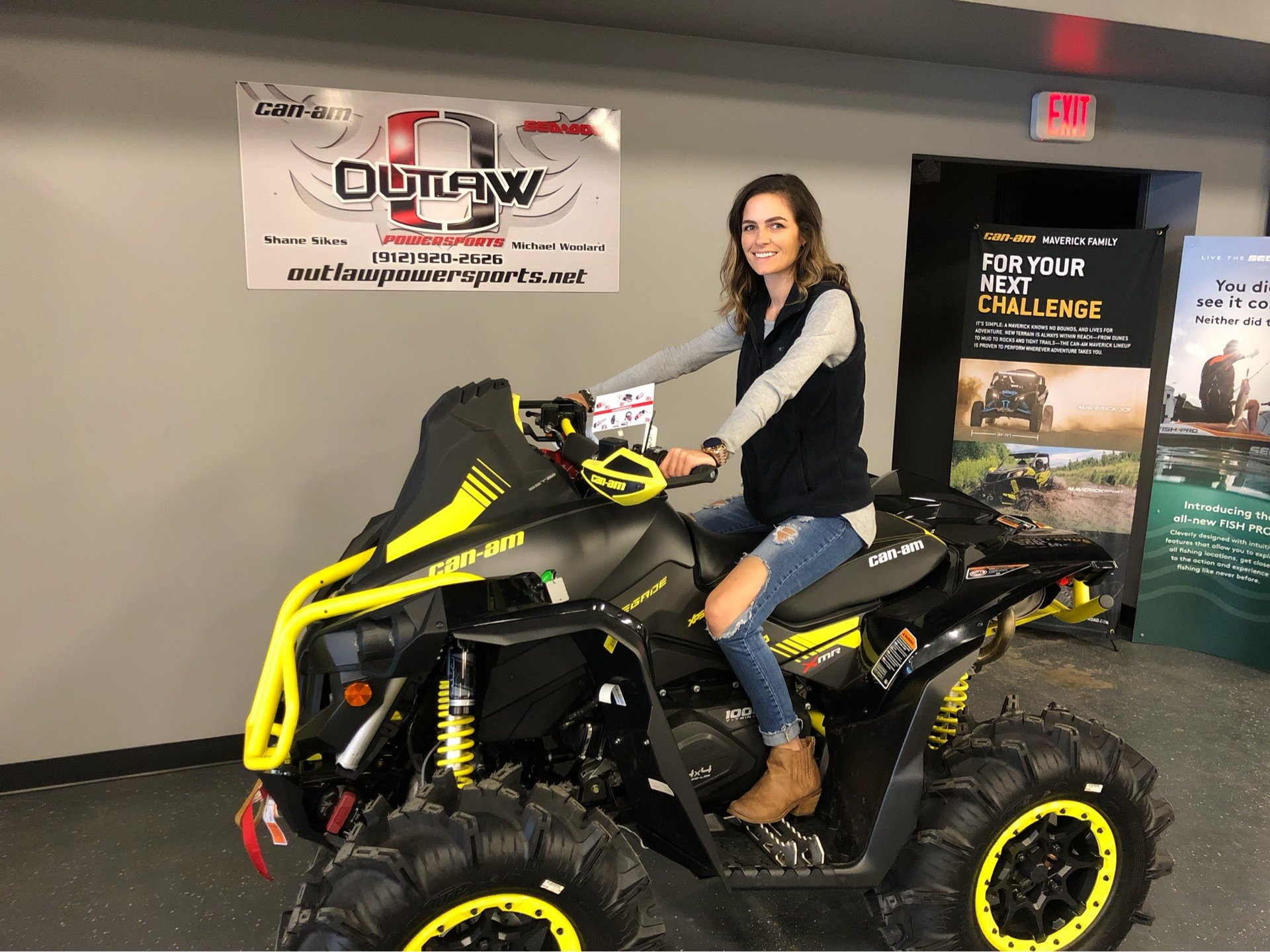 2019 Can-Am™ Renegade X MR 1000R 1
