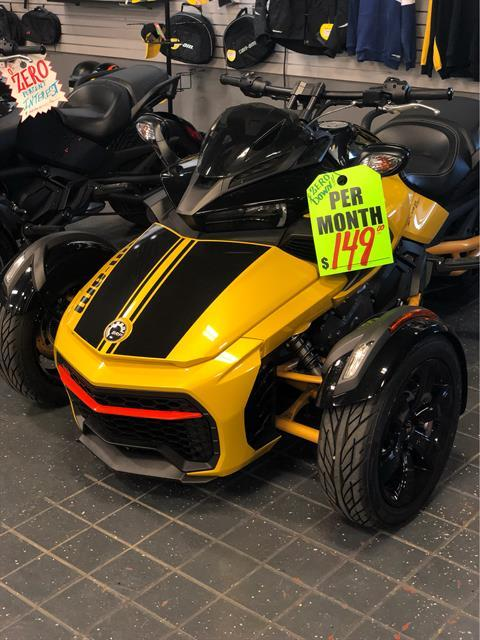 2017 Can-Am Spyder F3-S Daytona 500 SM6 in Savannah, Georgia