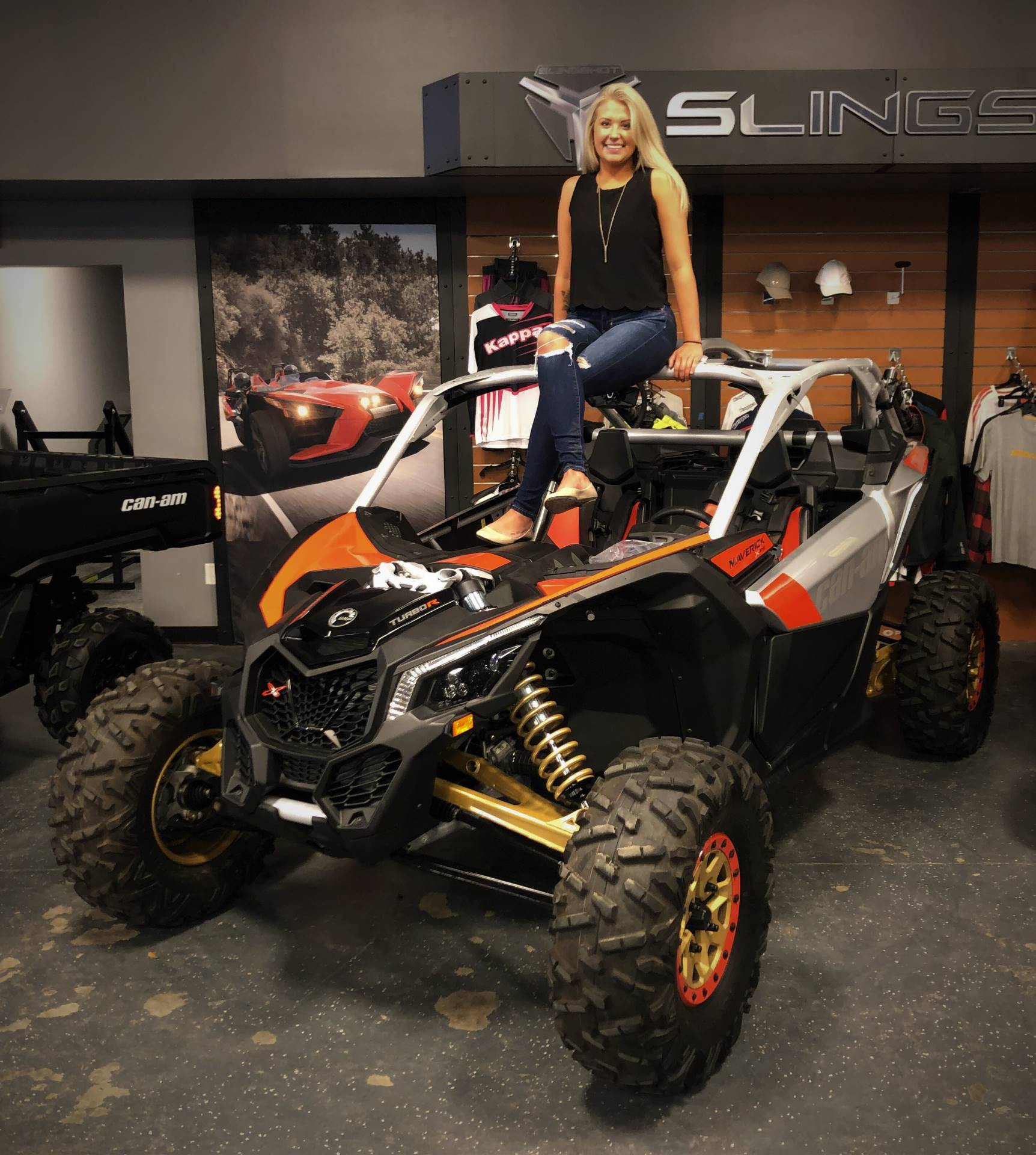 2019 Can-Am Maverick X3 X rs Turbo R in Savannah, Georgia