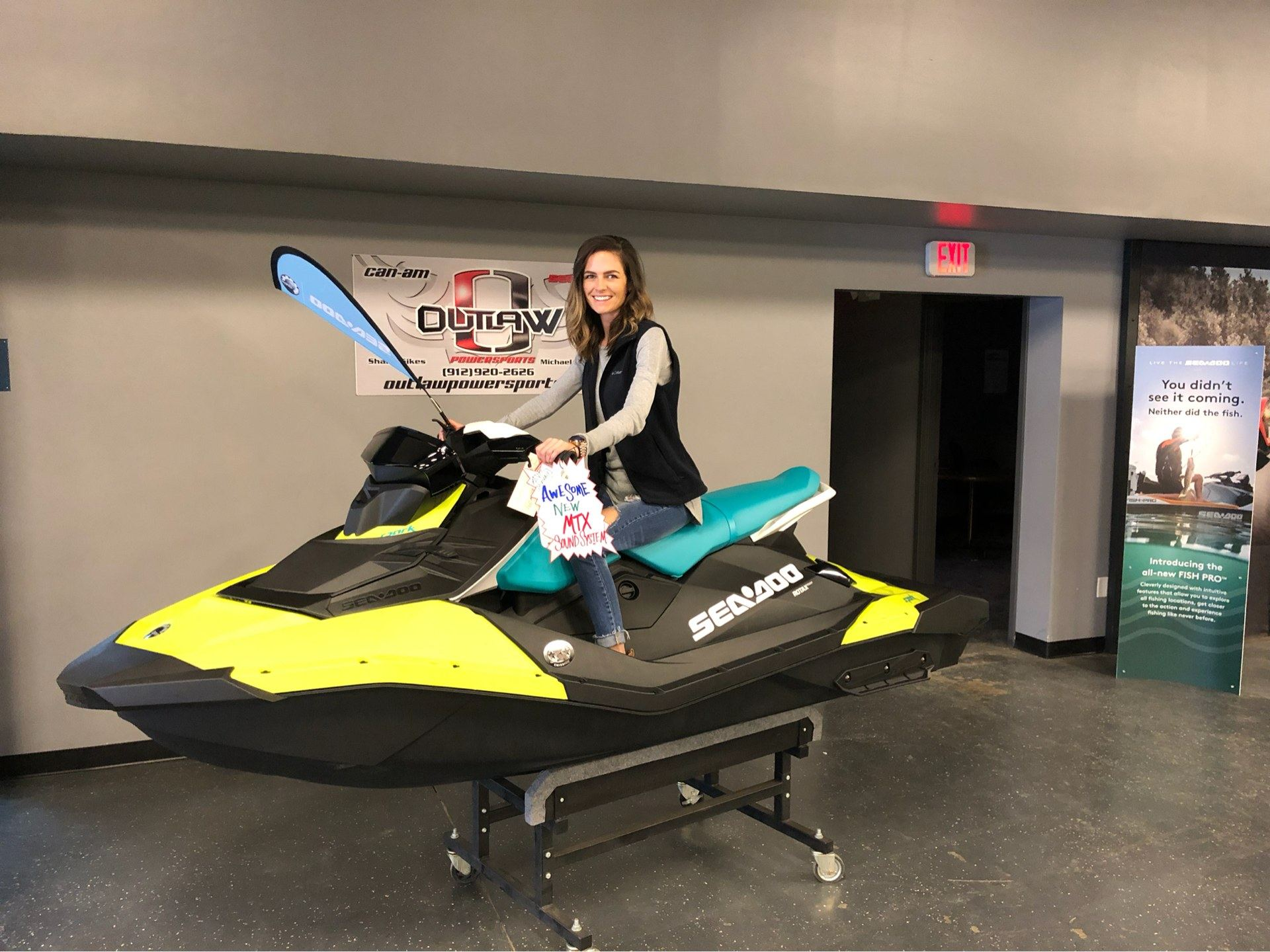 2019 Sea-Doo Spark 3up 900 H.O. ACE iBR, Convenience Package + Sound System in Savannah, Georgia