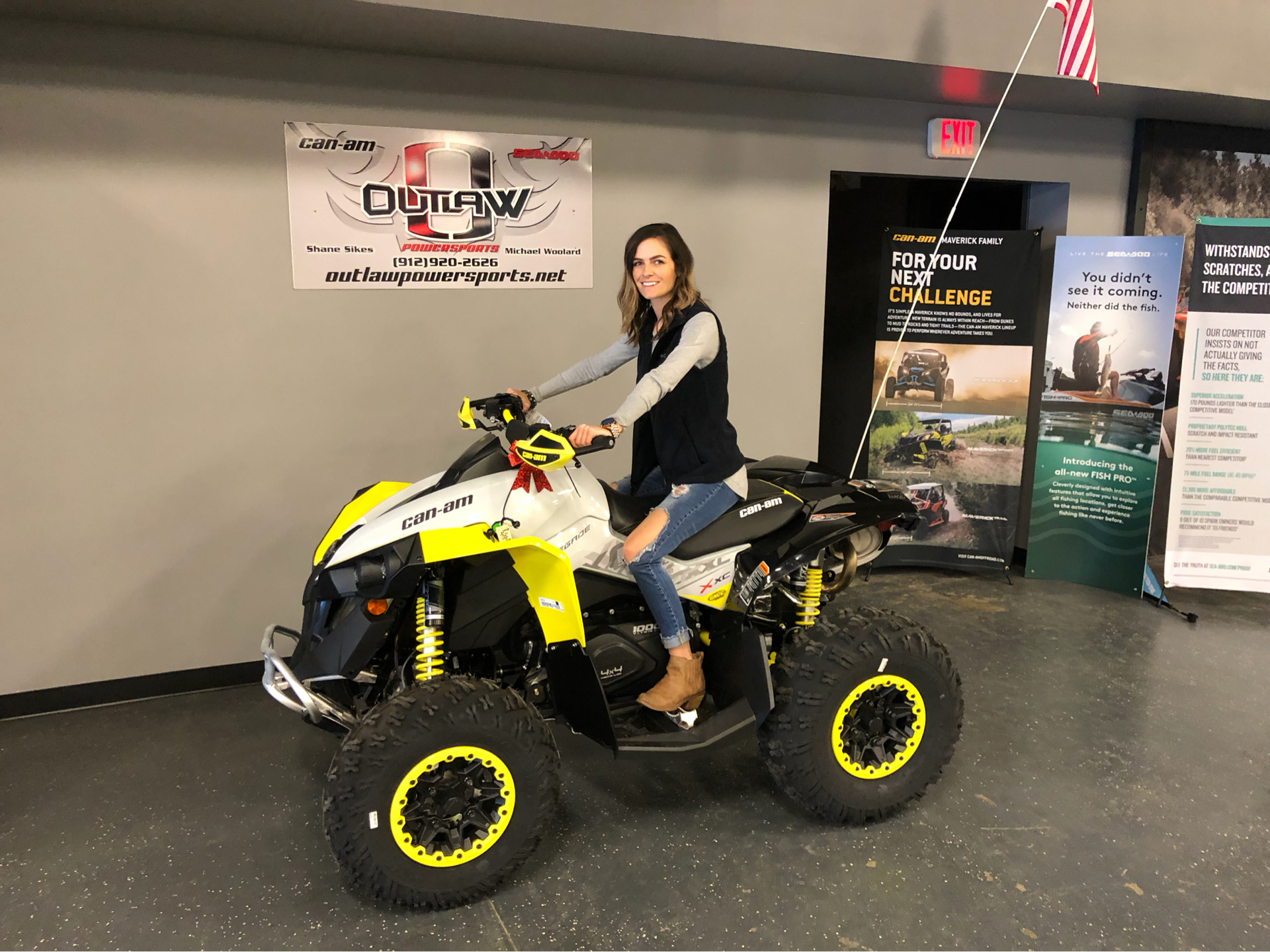 2019 Can-Am Renegade X xc 1000R in Savannah, Georgia - Photo 2